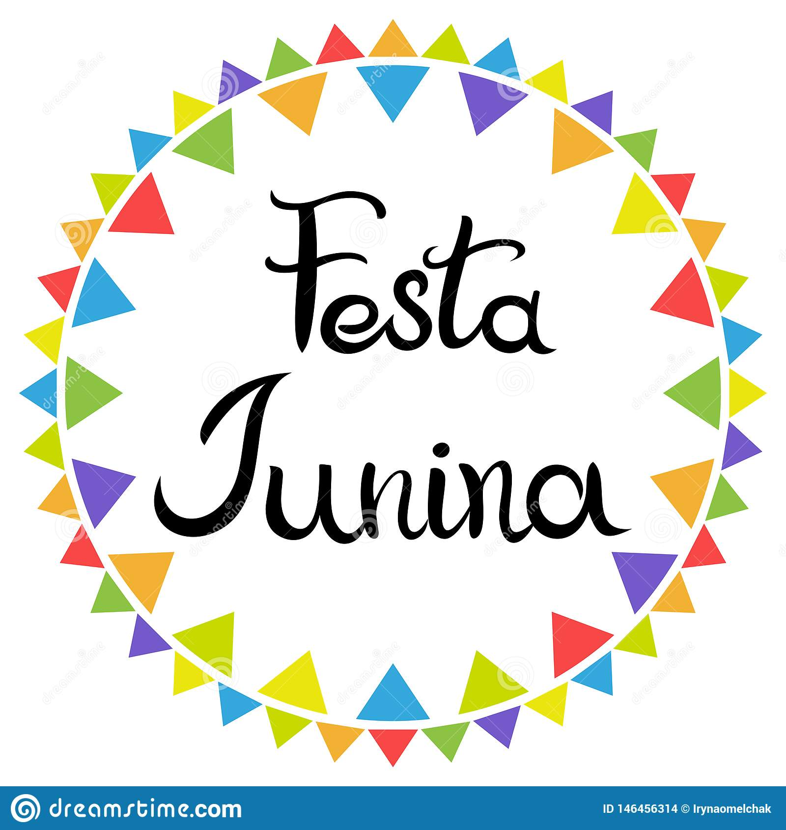 Lettrage Festa Junina Vacances latino-am?ricaines E