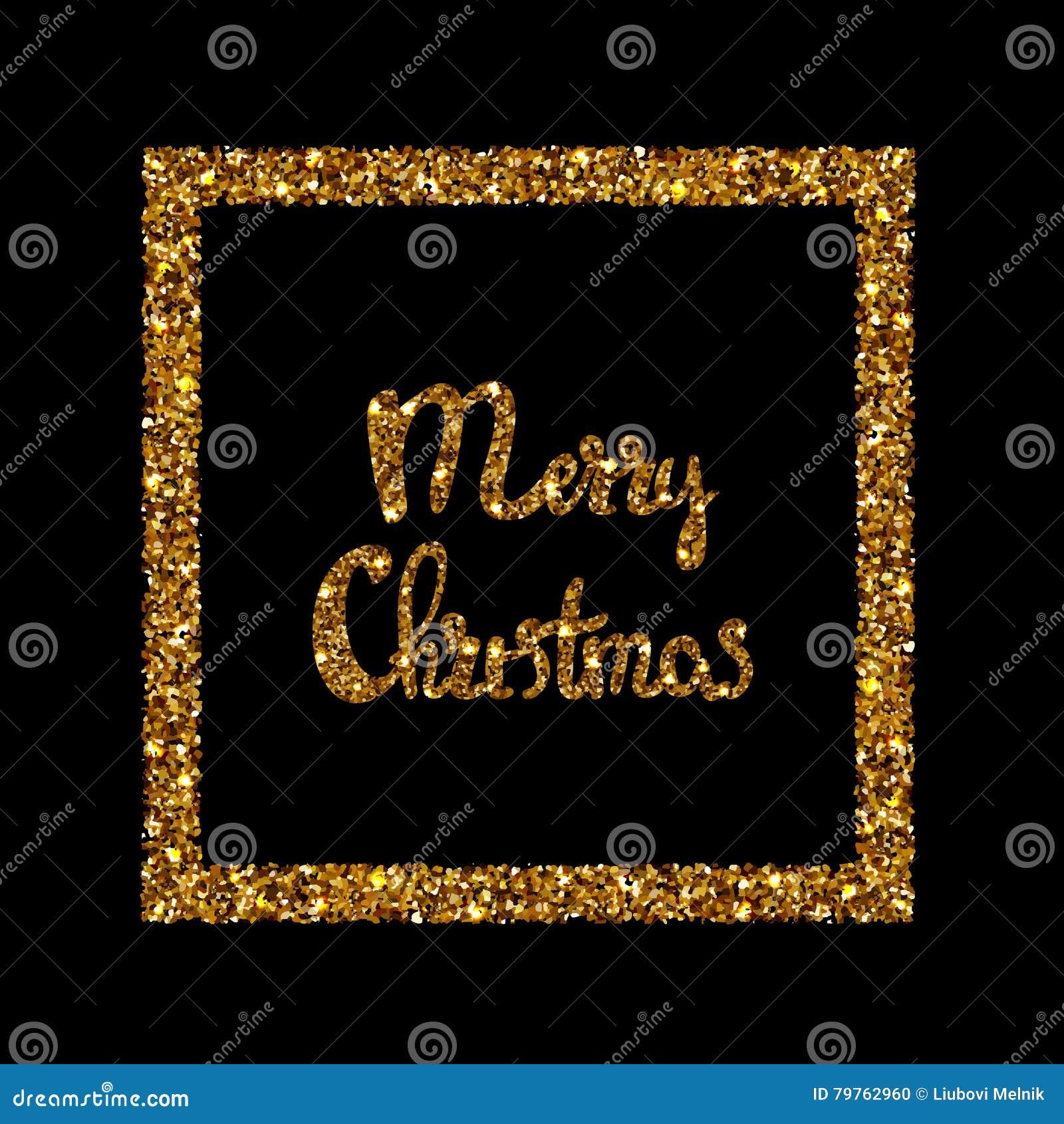 Lettrage tiré par la main de Joyeux Noël