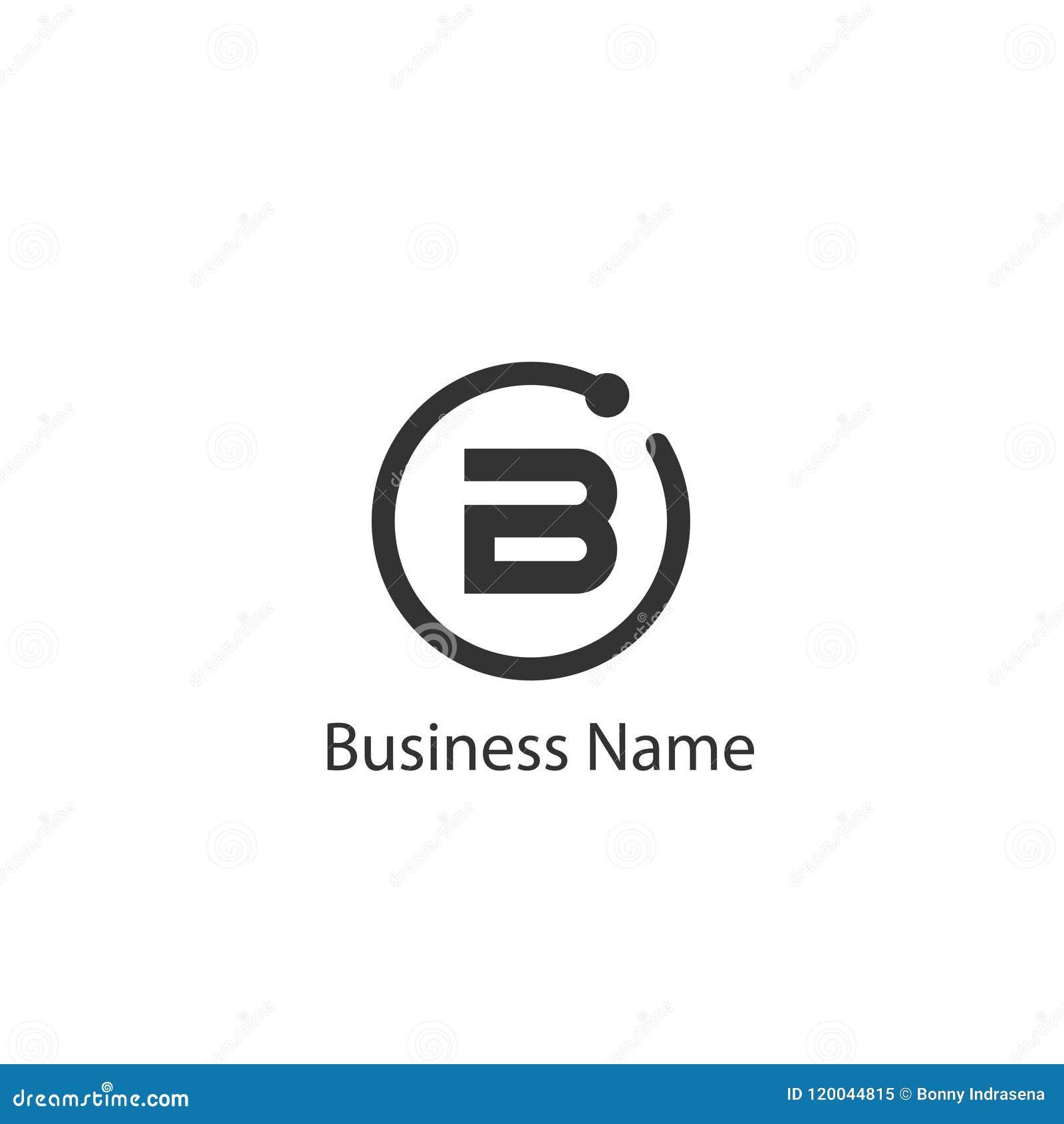 Lettre B Logo Design illustration de vecteur. Illustration du ...