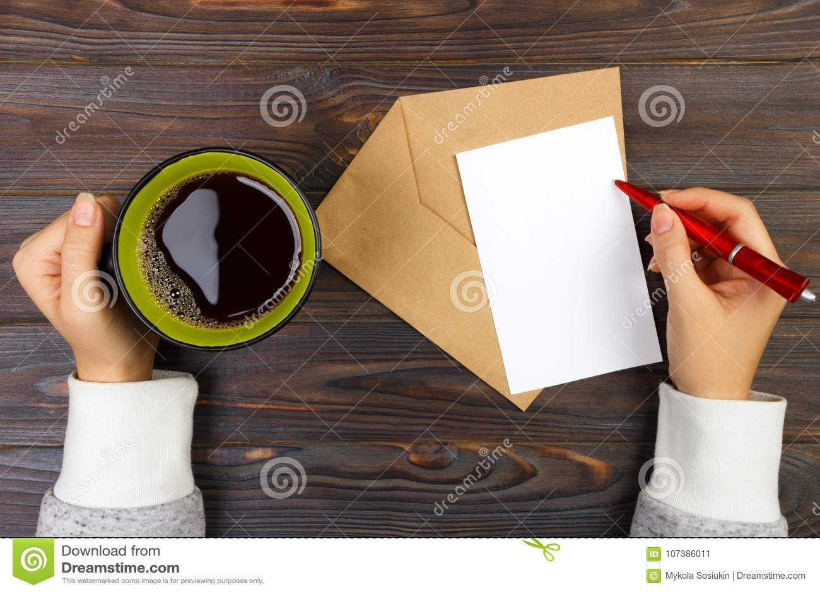 Lettre damour carte de valentines cadeau de lettre de vacances et