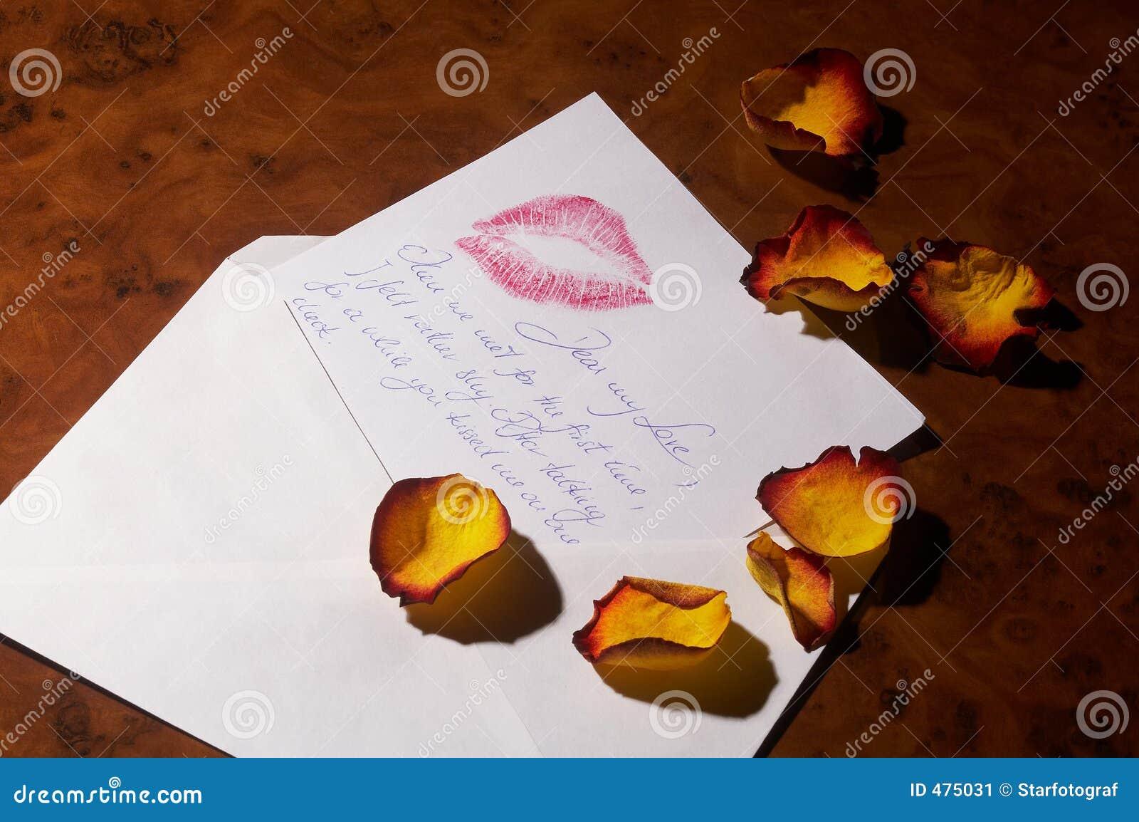 Lettre d amour - Liebesbrief