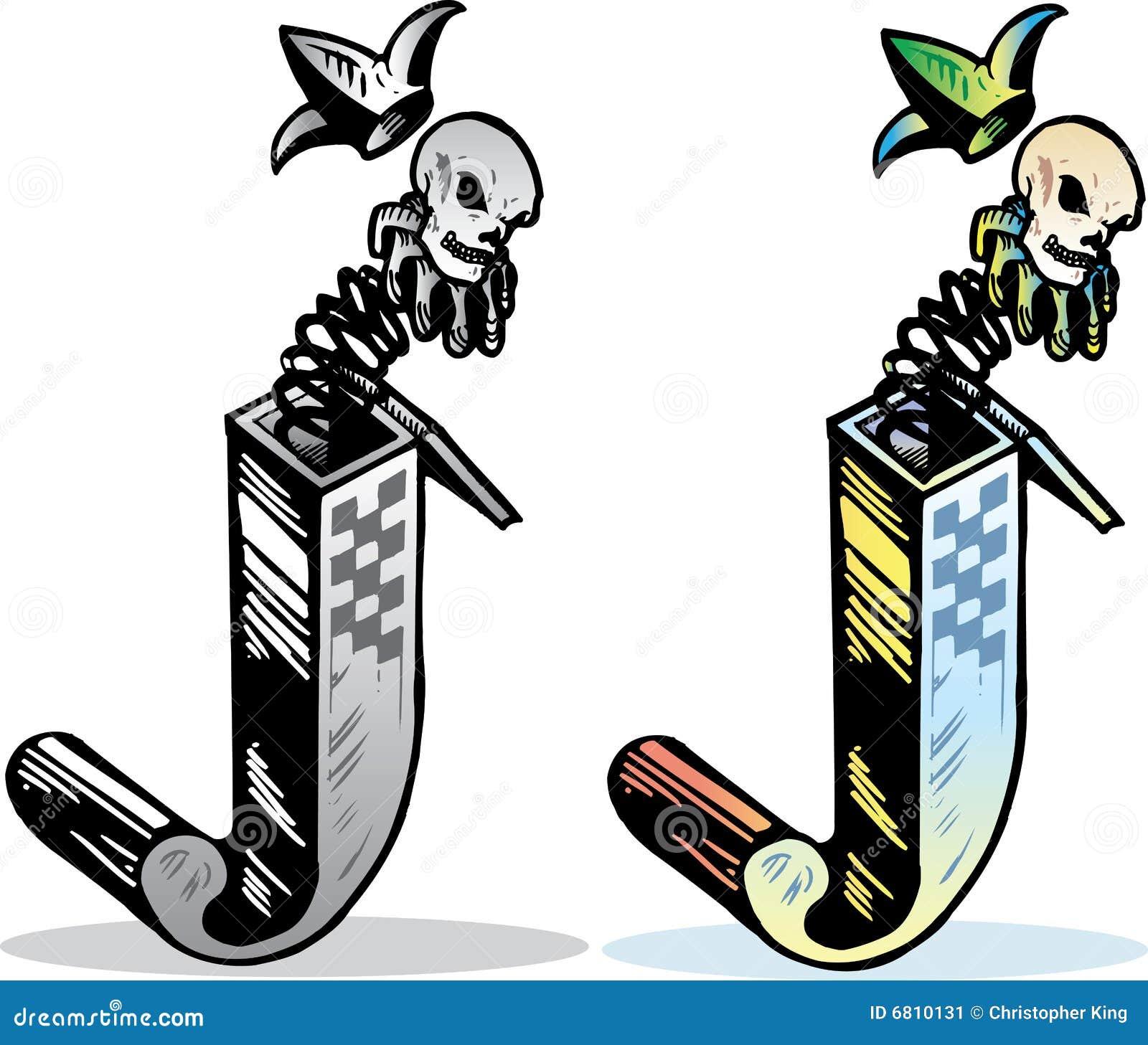 Lettre K De Type De Tatouage Stock Illustrations Vecteurs