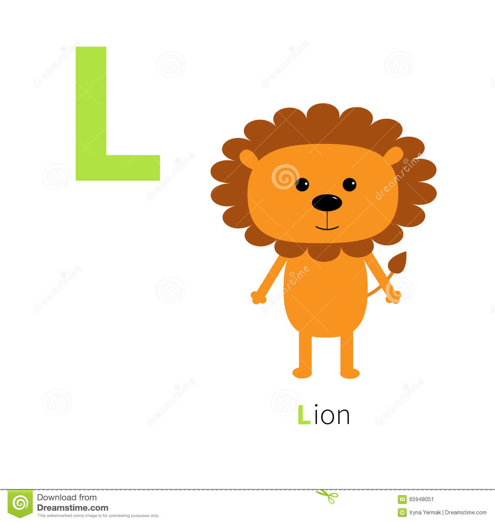 lettre l alphabet de lion zoo abc anglais avec des cartes d 39 ducation d 39 animaux pour la. Black Bedroom Furniture Sets. Home Design Ideas
