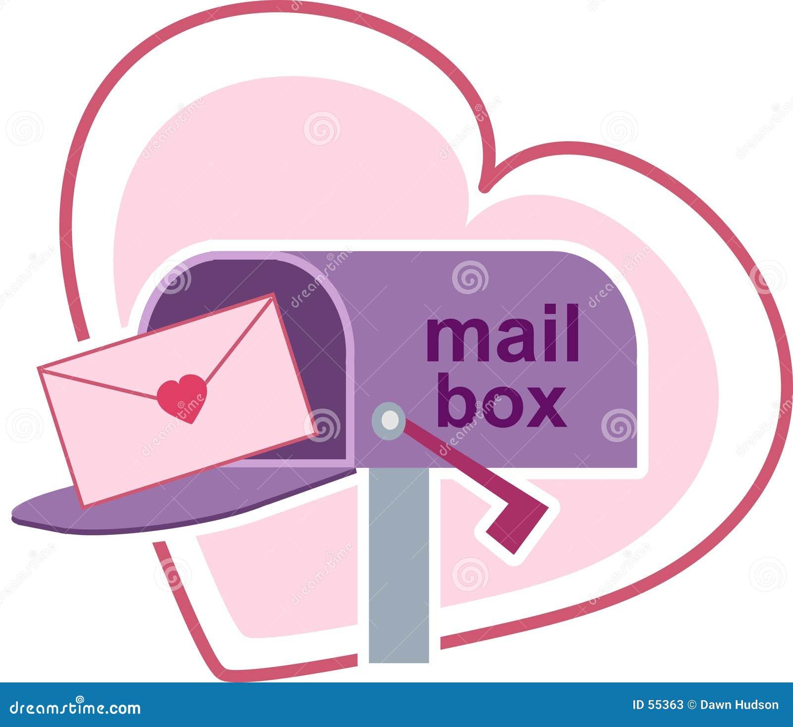 Download Lettres d'amour illustration de vecteur. Illustration du valentines - 55363