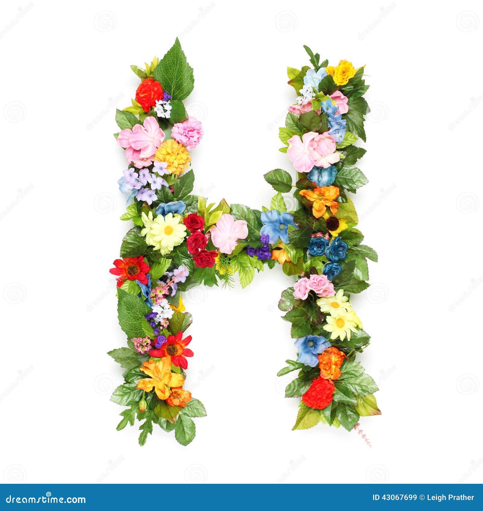 lettres des feuilles et des fleurs image stock image du jardinage message 43067699. Black Bedroom Furniture Sets. Home Design Ideas
