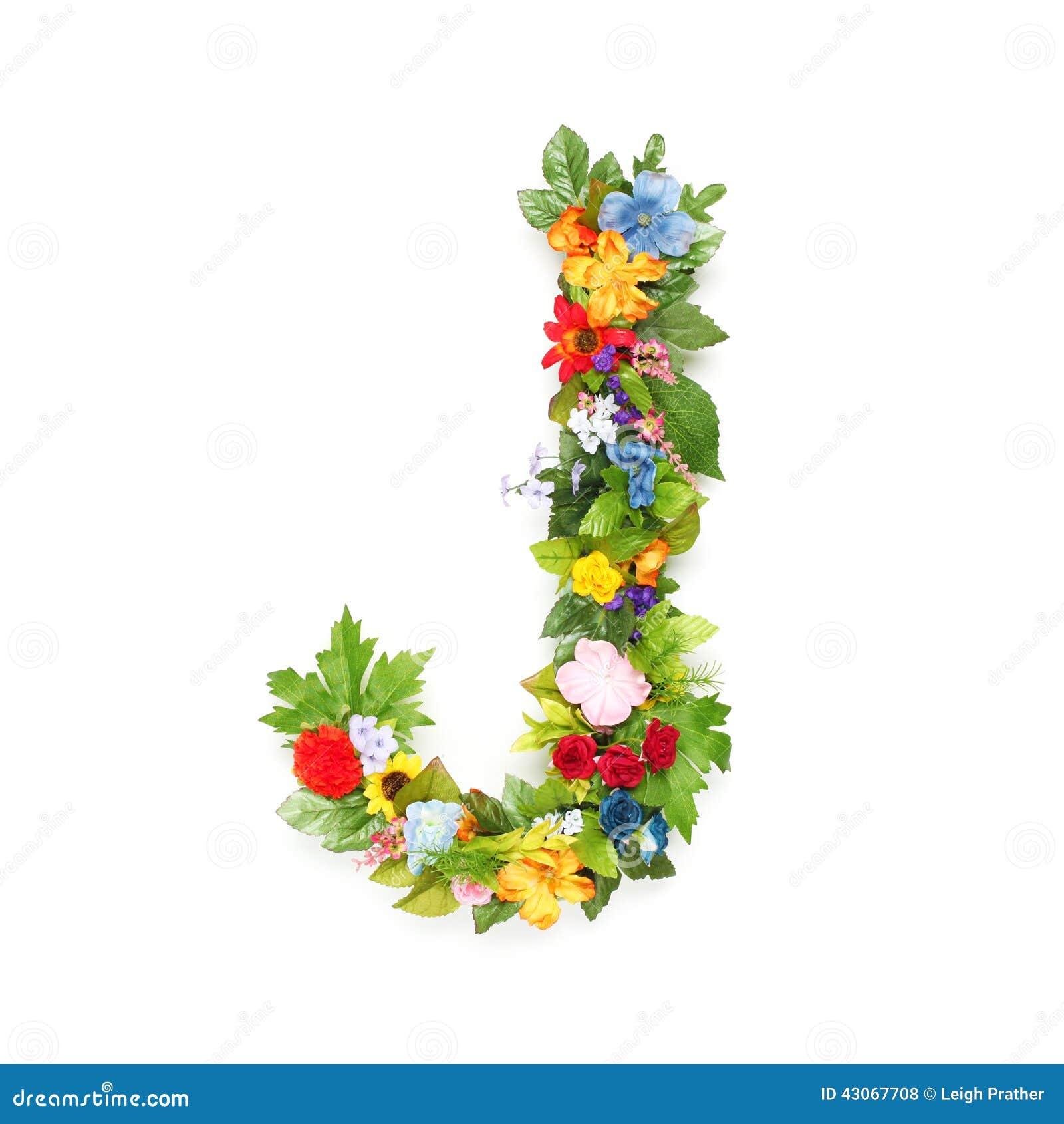 lettres des feuilles et des fleurs photo stock image du jardinage couleur 43067708. Black Bedroom Furniture Sets. Home Design Ideas