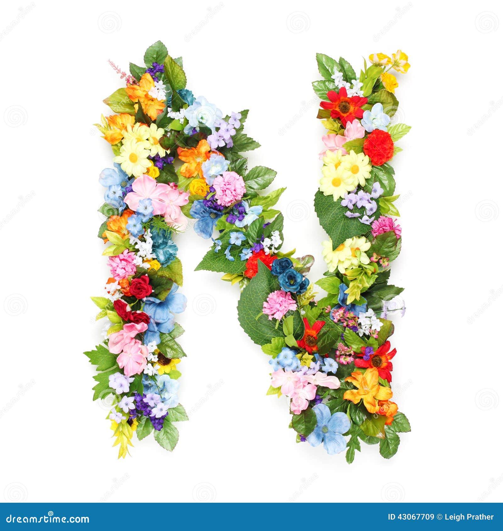 lettres des feuilles et des fleurs image stock image du lame jardin 43067709. Black Bedroom Furniture Sets. Home Design Ideas