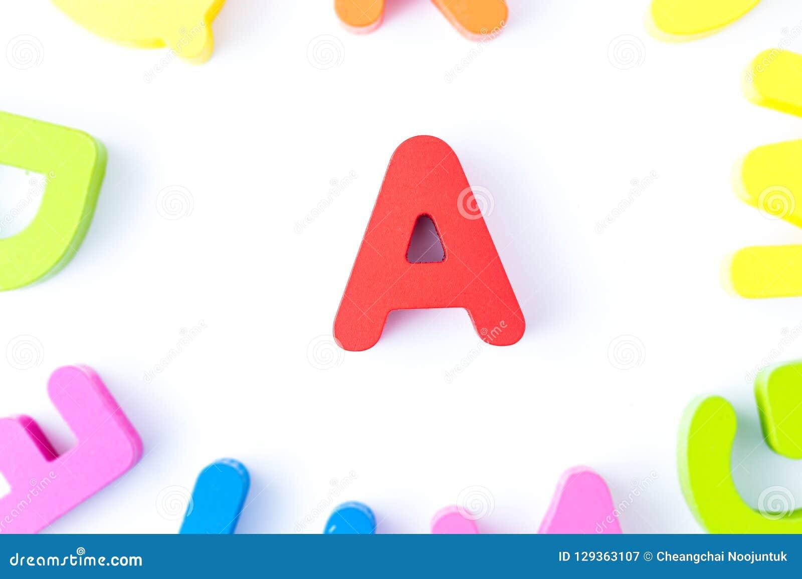 Lettres en anglais