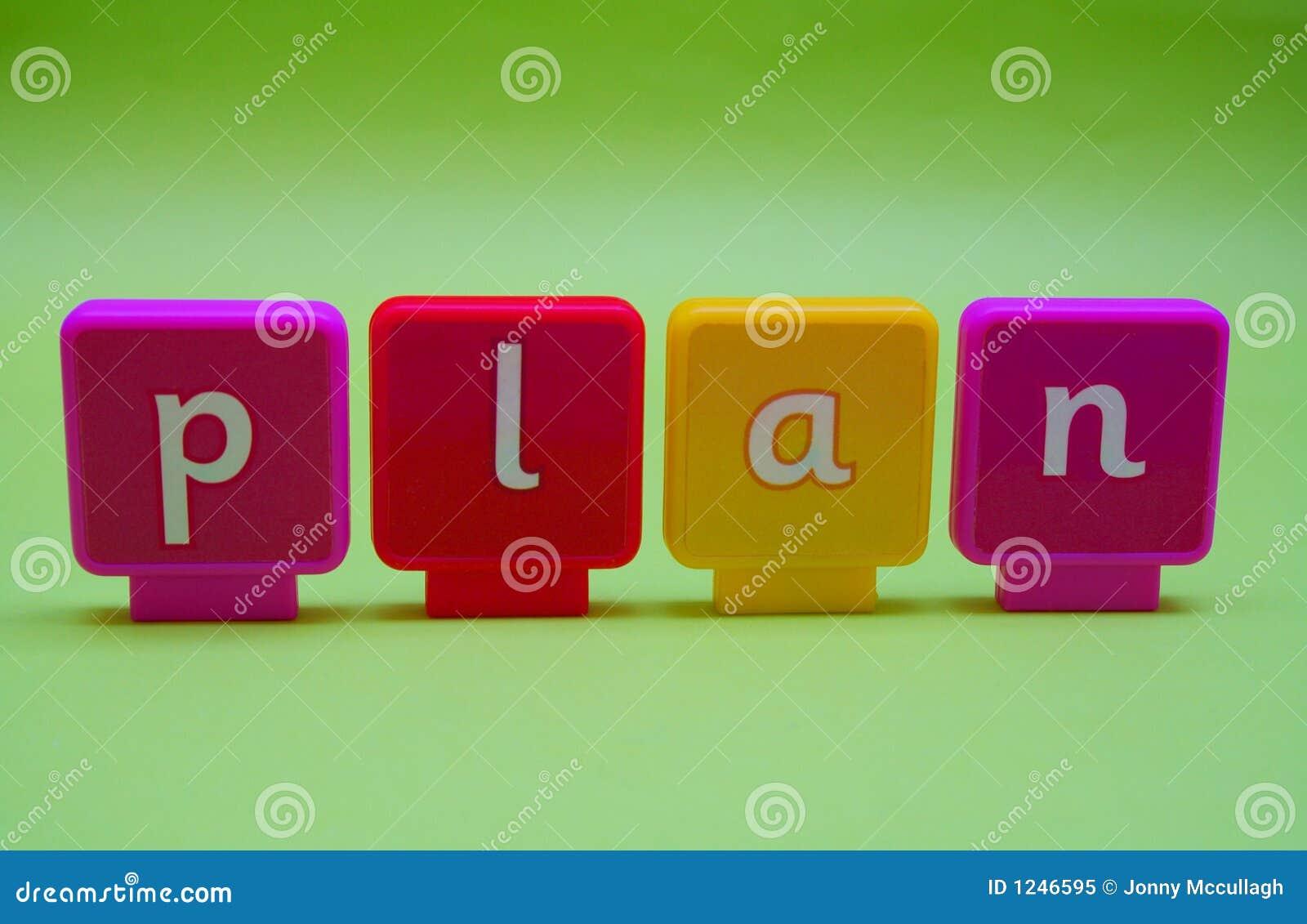Lettres : Plan