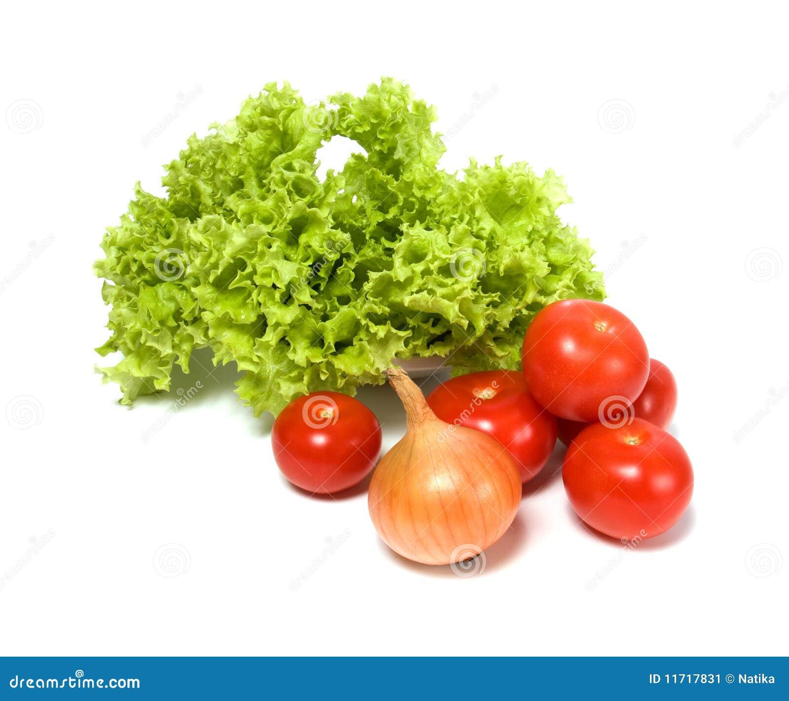 how to make vegetable salad lettuce