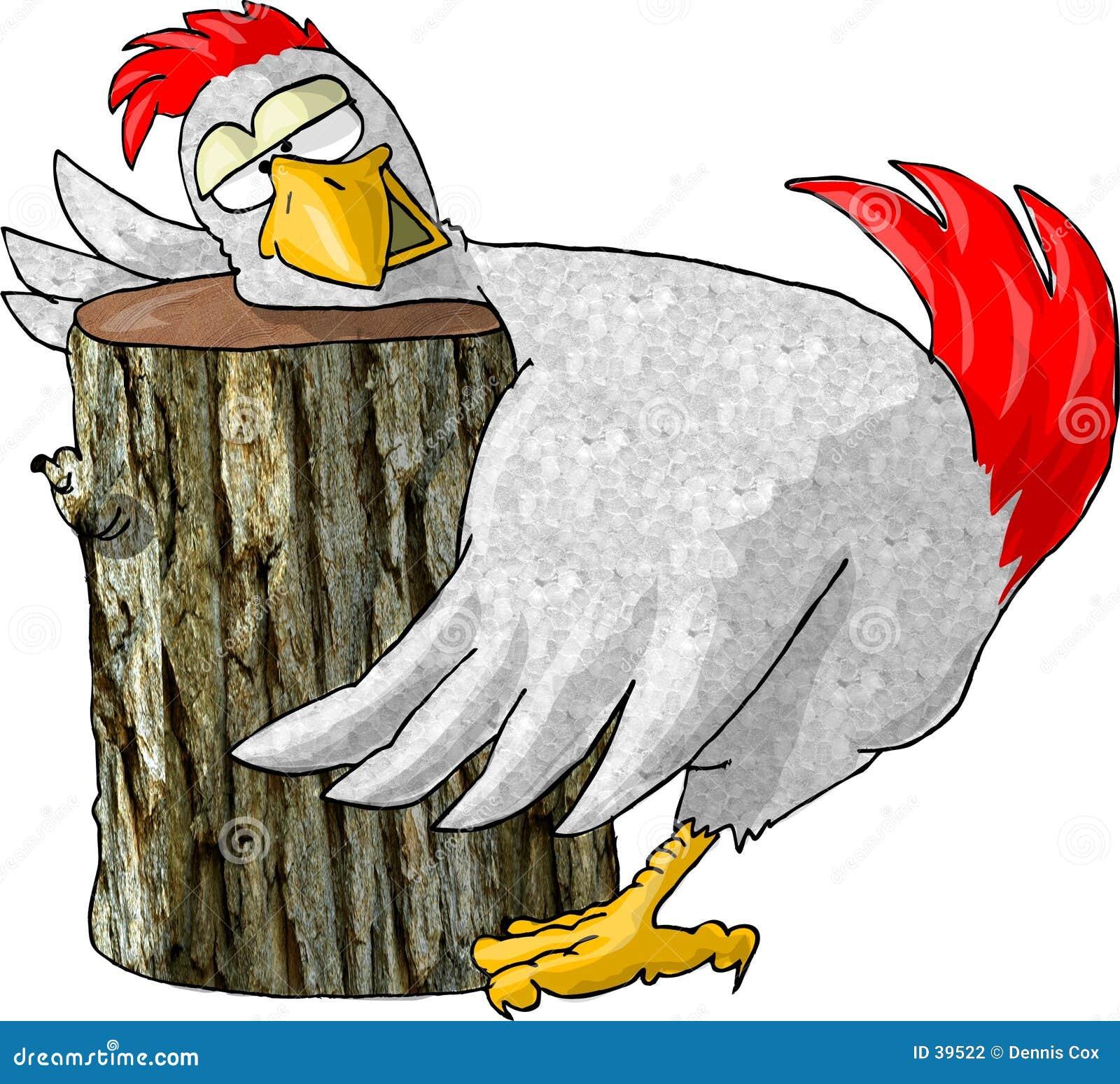 Letzte Riten des Huhns
