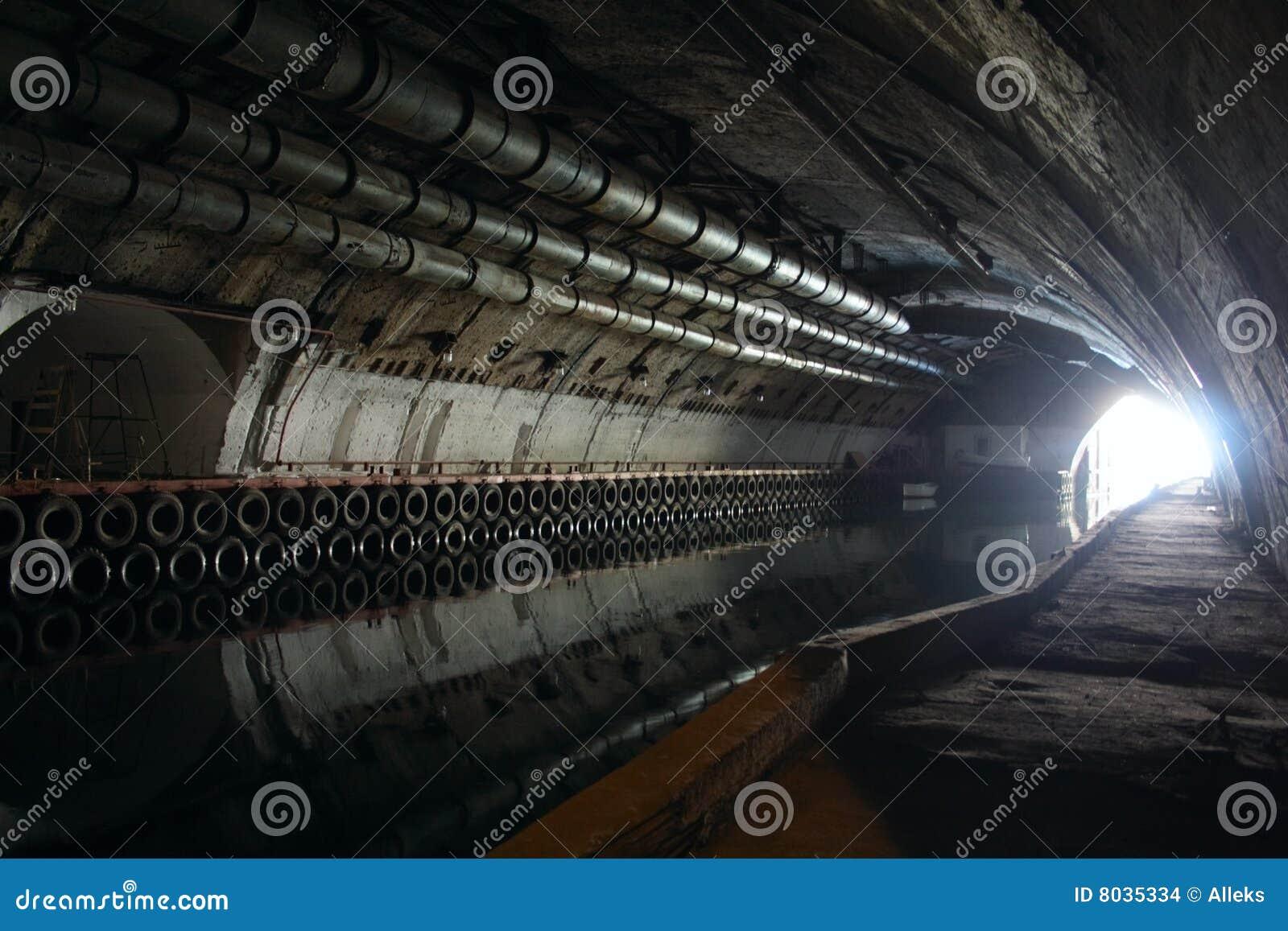 Leuchte im Ende des Tunnels