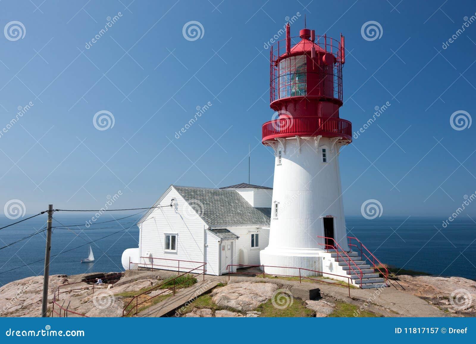 Leuchtturm bei Lindesnes