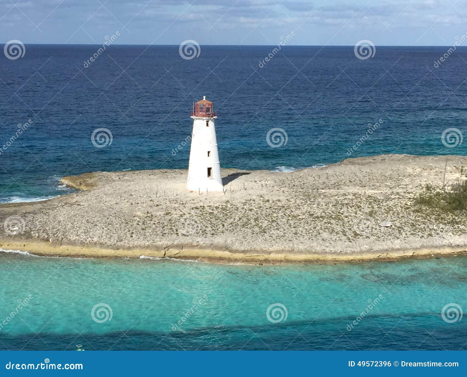 Leuchtturm im Punkt