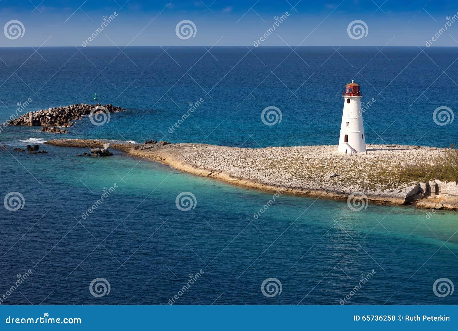 Leuchtturm in Nassau, Bahamas