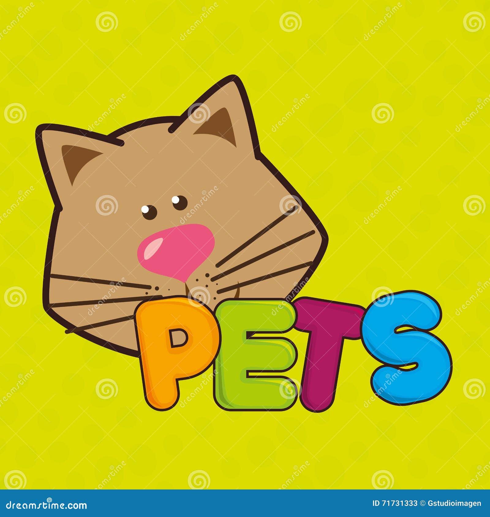 Leuk huisdierenontwerp