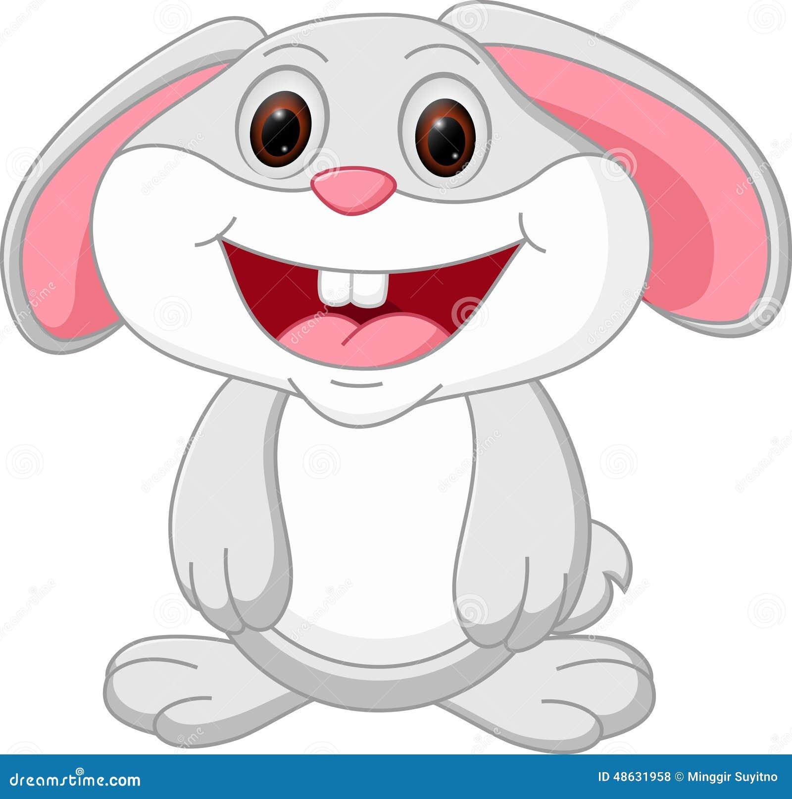 Leuk konijnbeeldverhaal