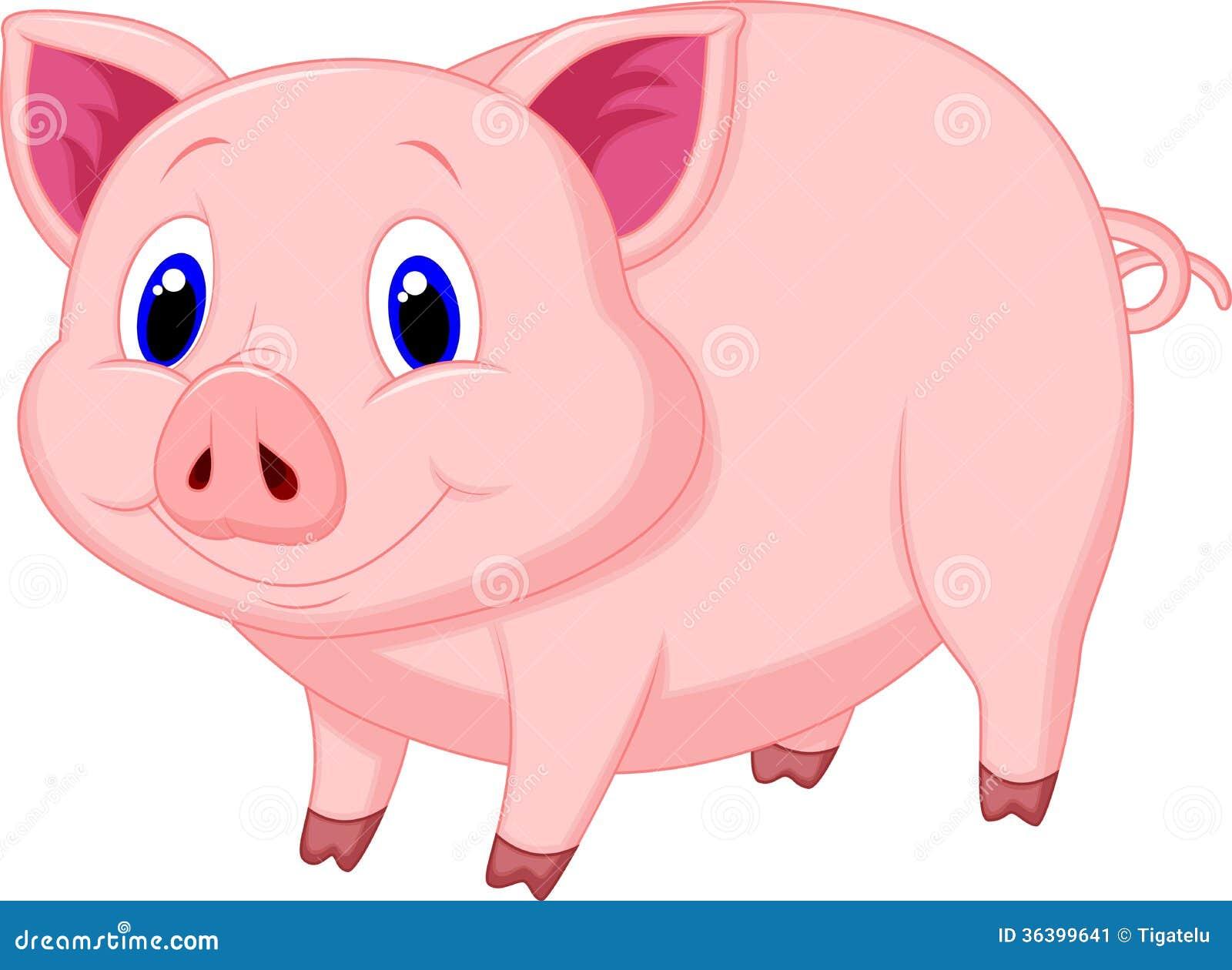 Leuk varkensbeeldverhaal