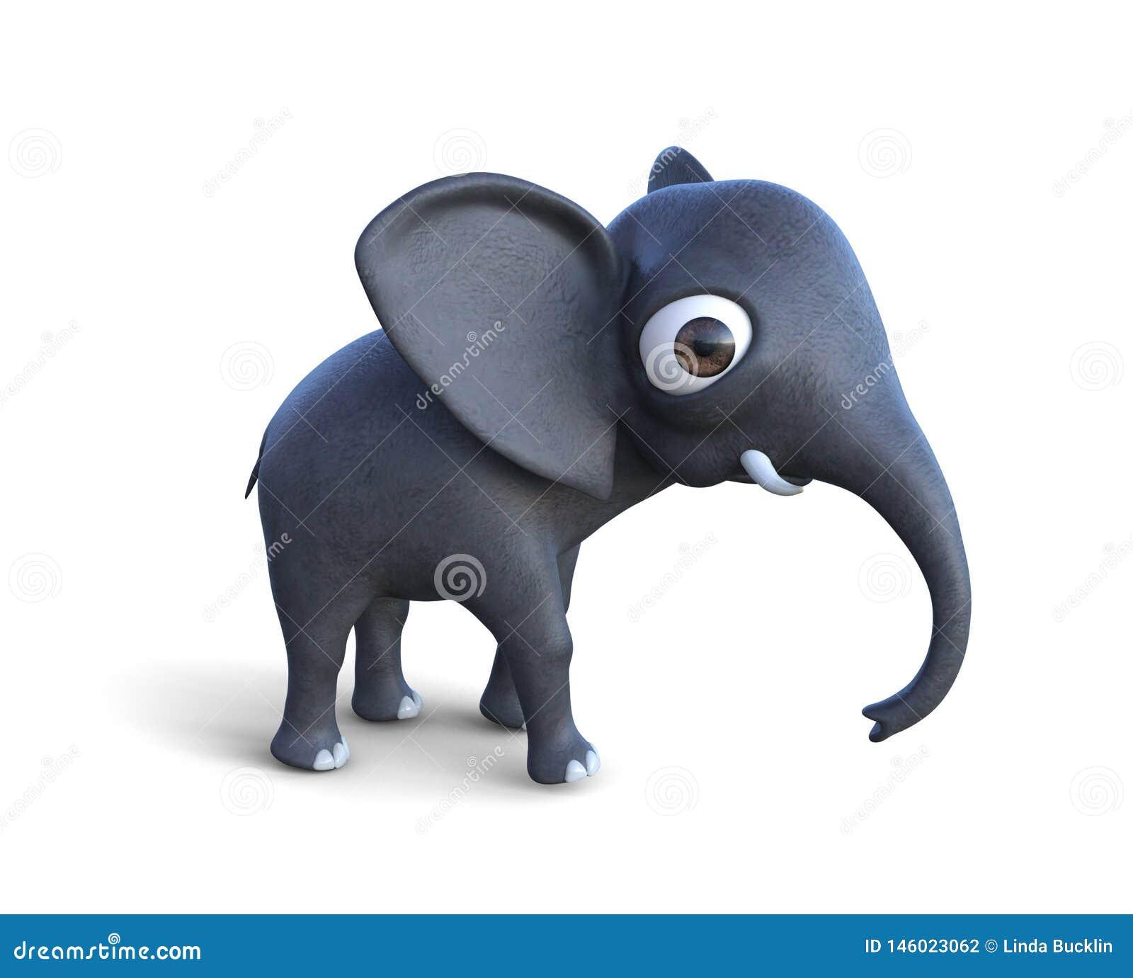 Leuk Weinig Babyolifant