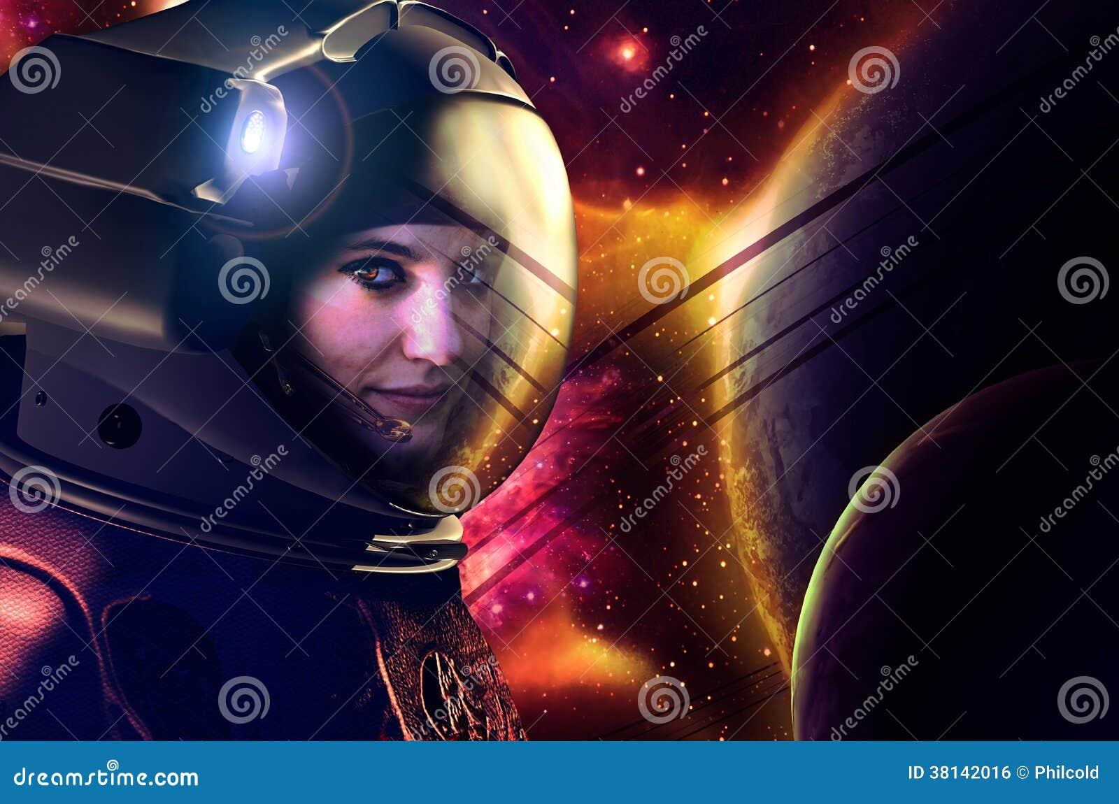 Leuke astronaut