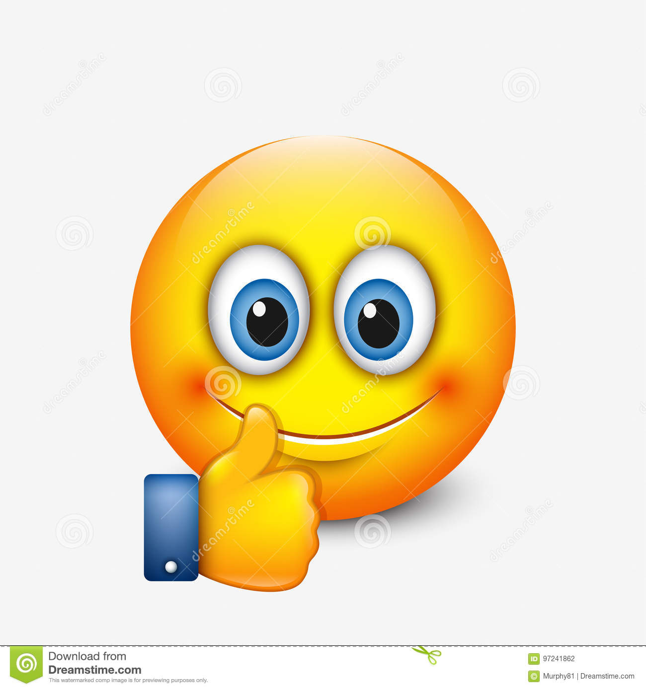 Emoticon flirten