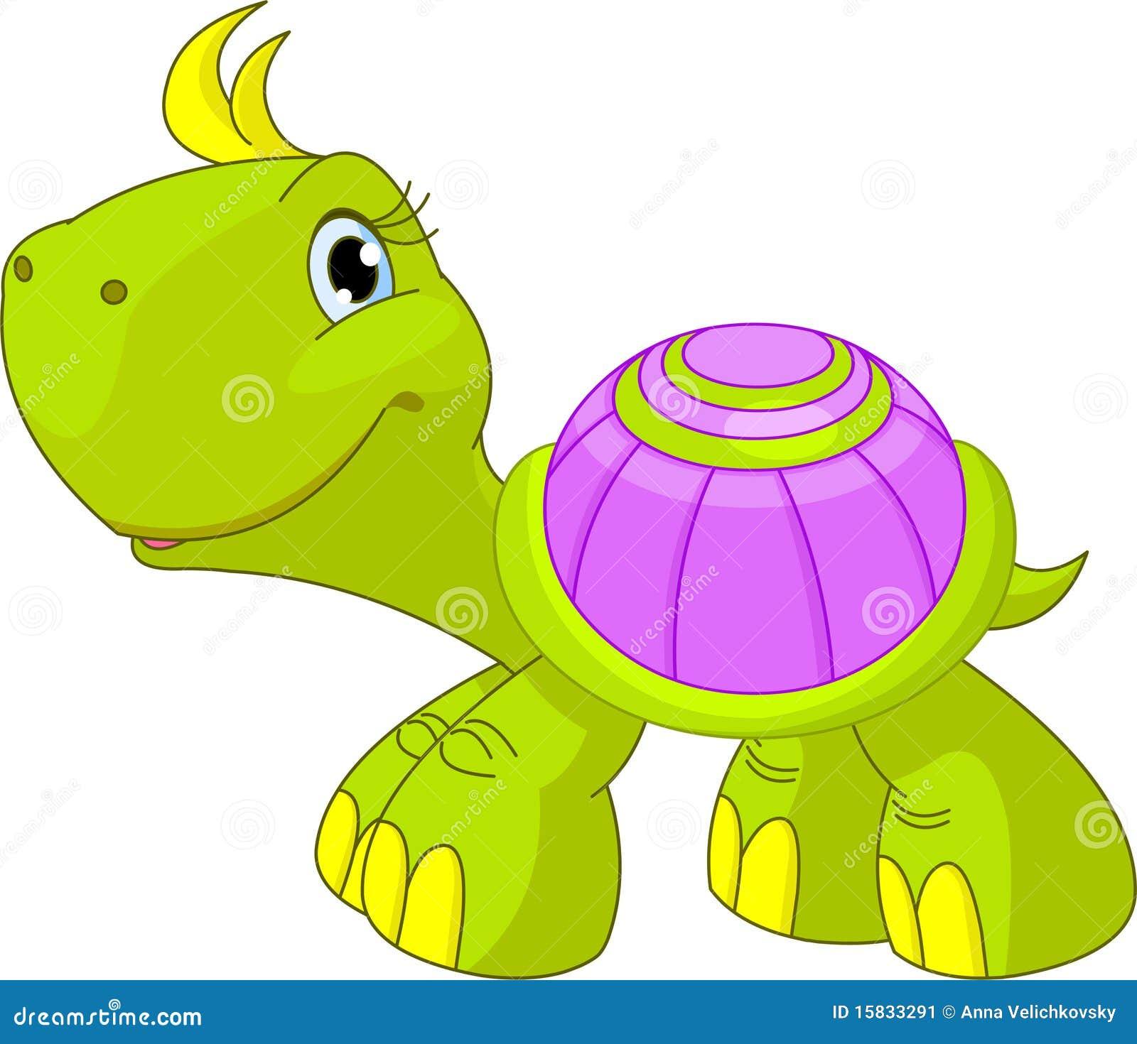 Leuke grappige schildpad stock afbeelding afbeelding - Image tortue rigolote ...