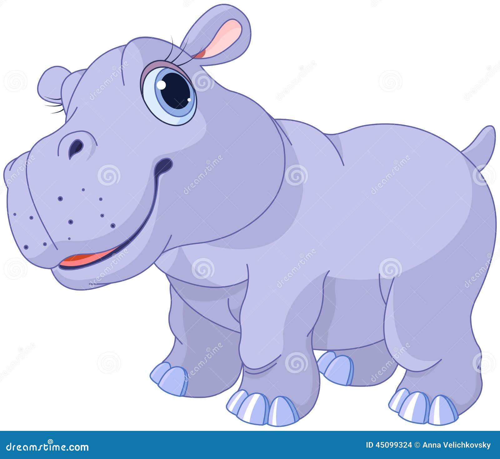 Leuke hippo