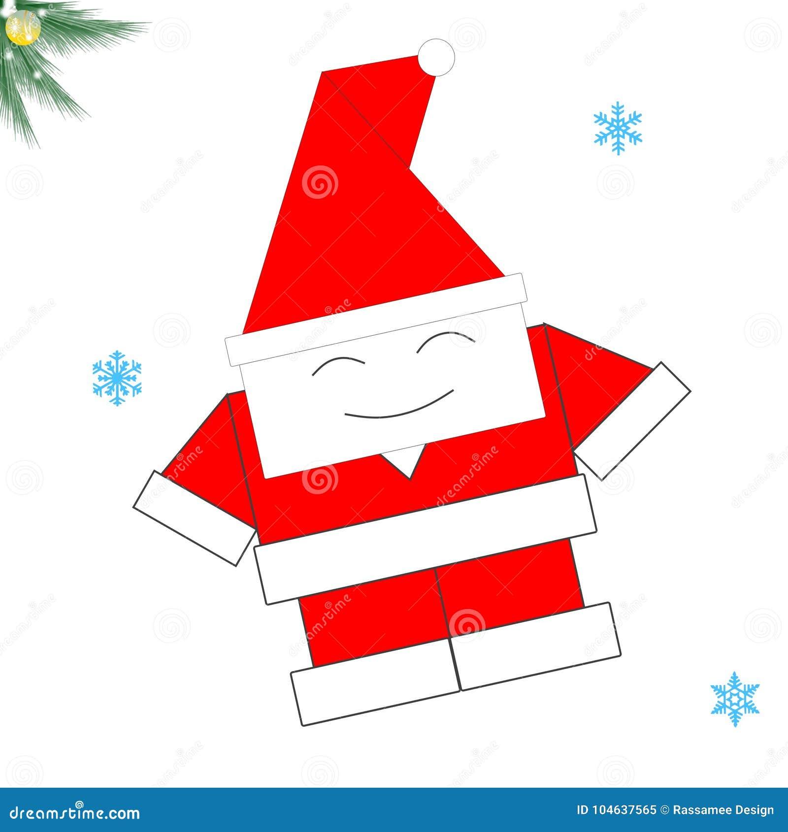 Download Leuke Kerstkaart Op Witte Achtergrond Stock Illustratie - Illustratie bestaande uit dekking, seizoengebonden: 104637565