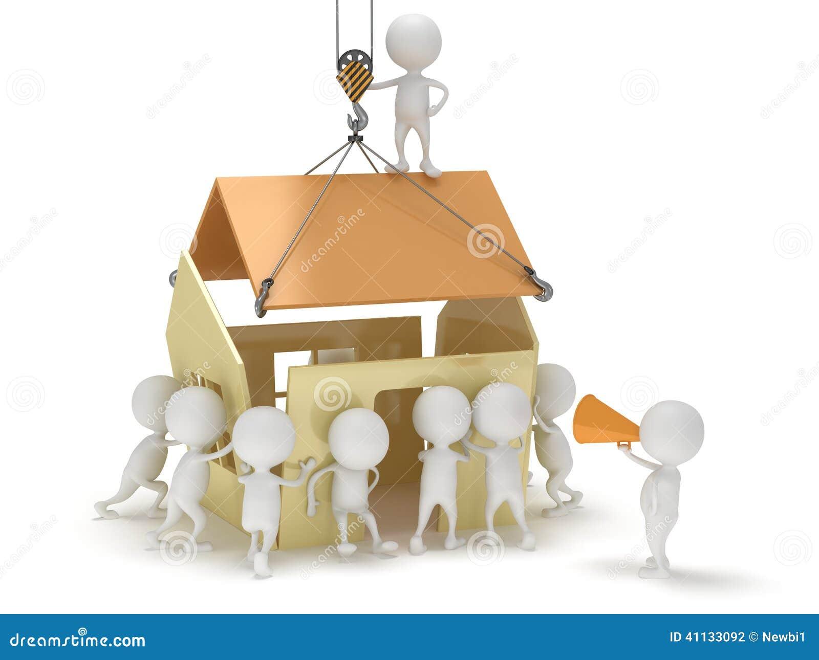 3D Haus Bauen