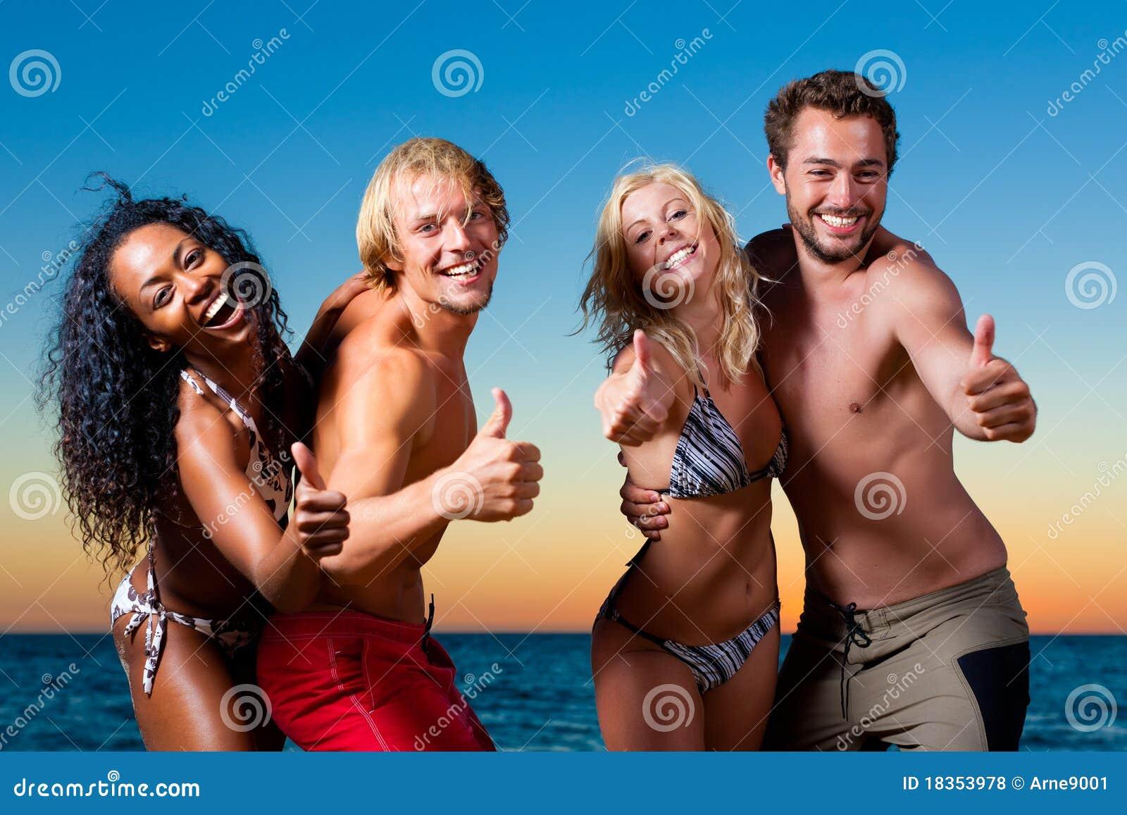 Die Party Am Strand