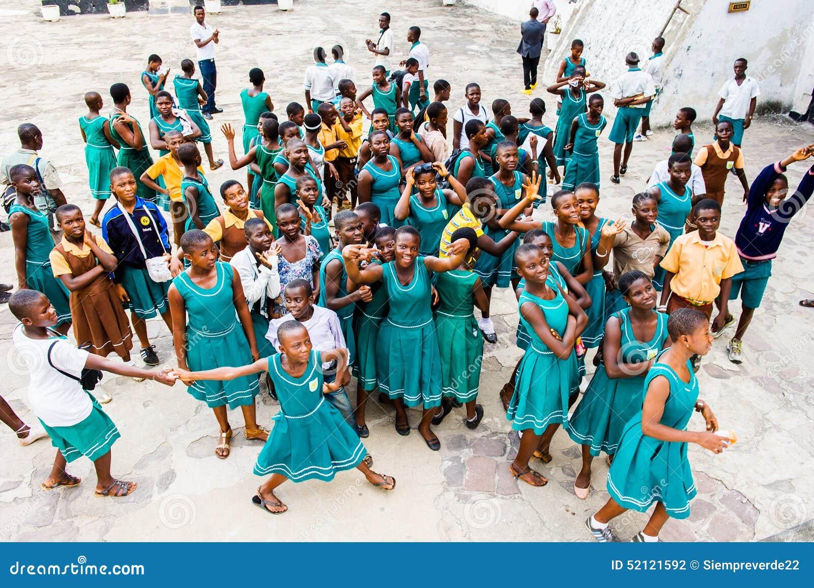Leute in GHANA