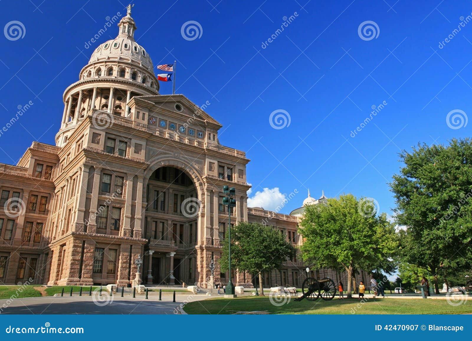 Leutebesuch Texas-Staatskapitol