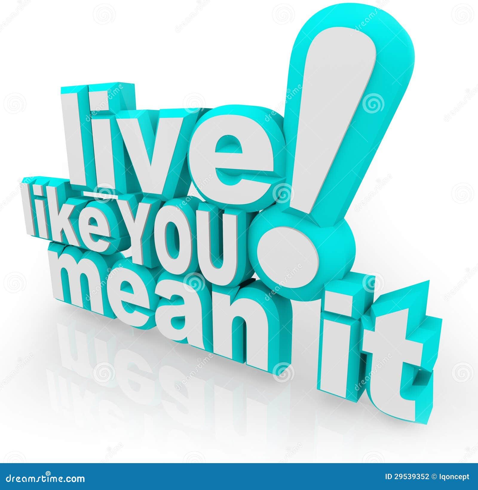 Levande något liknande du betyder att den 3D uttrycker ordstäv