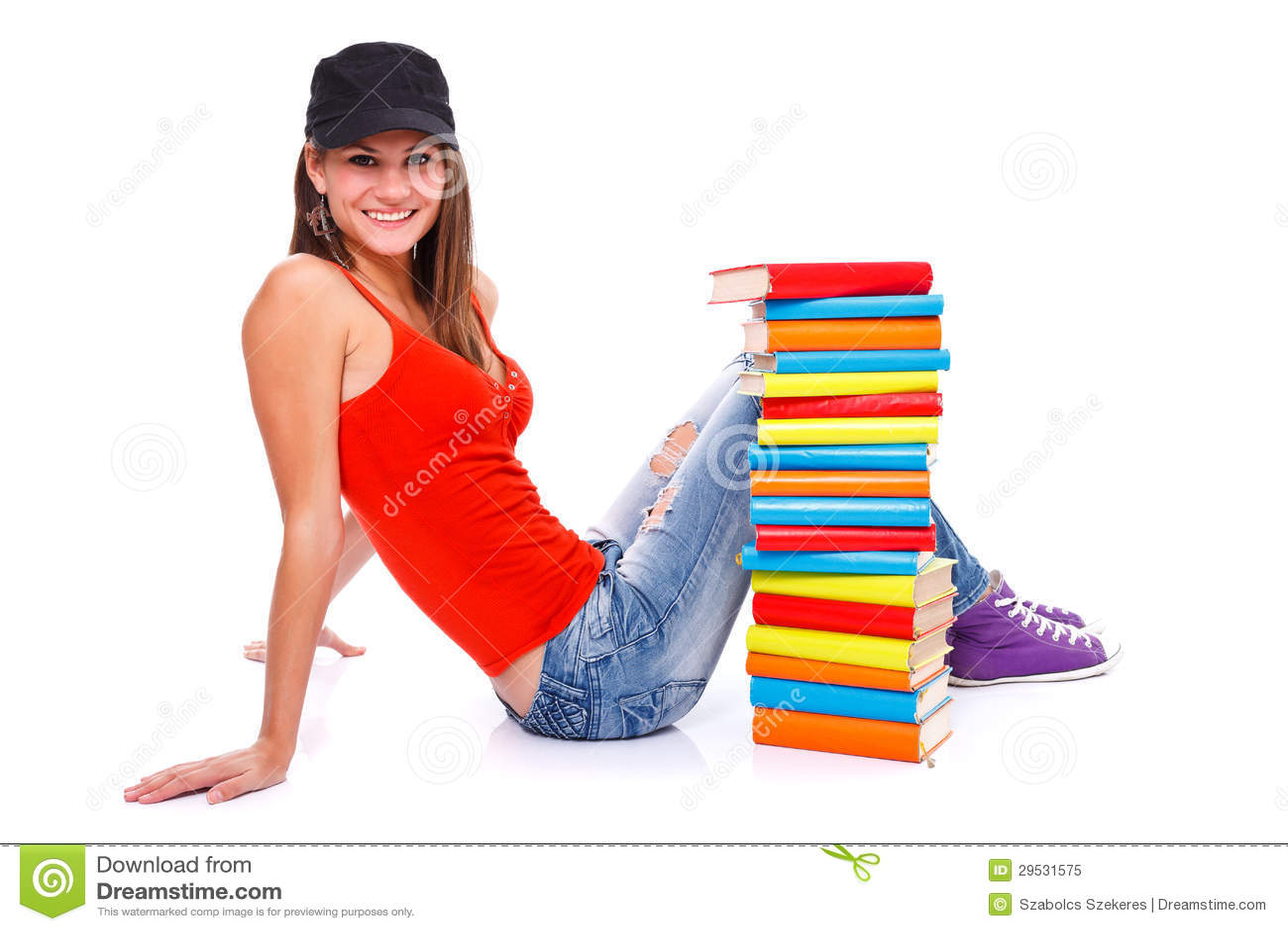Levantamento com livros