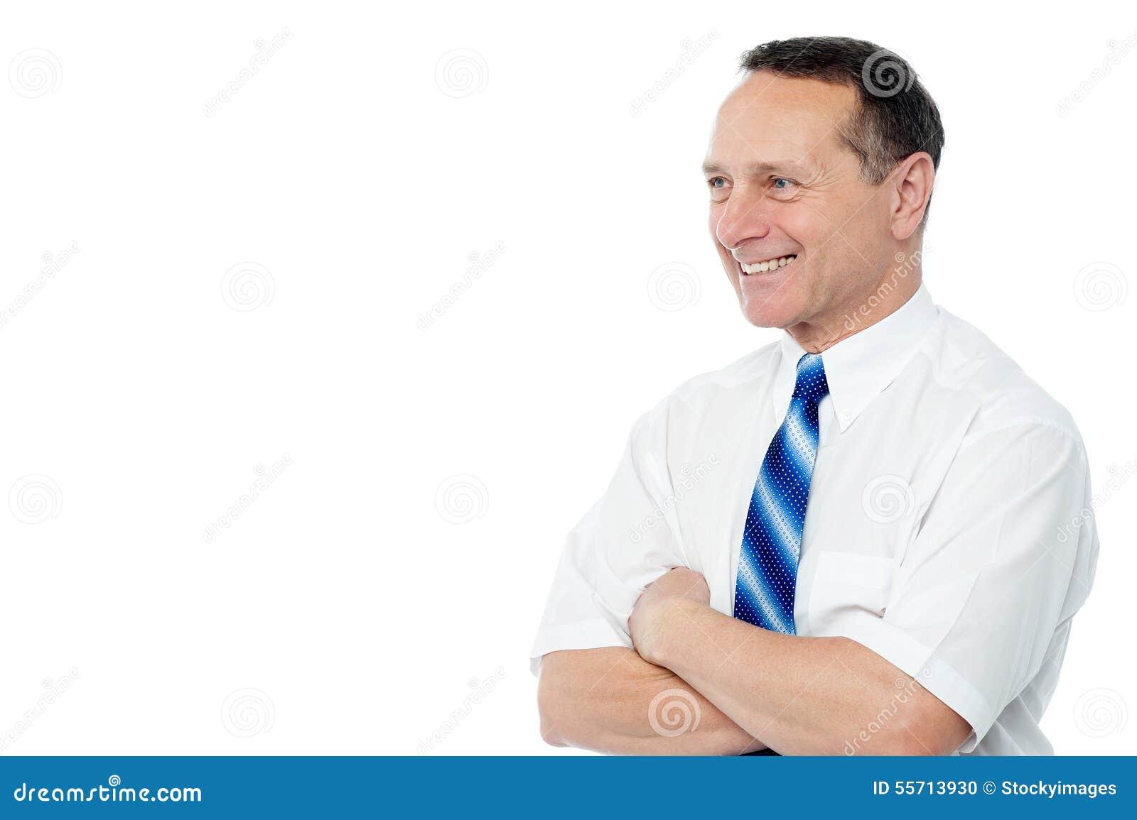 Levantamento executivo masculino seguro
