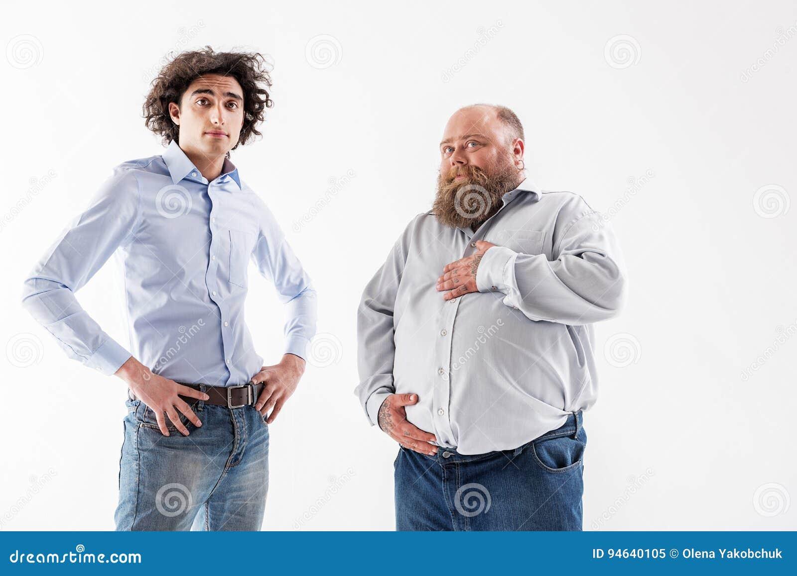 Levantamento fino e grosso seguro dos homens