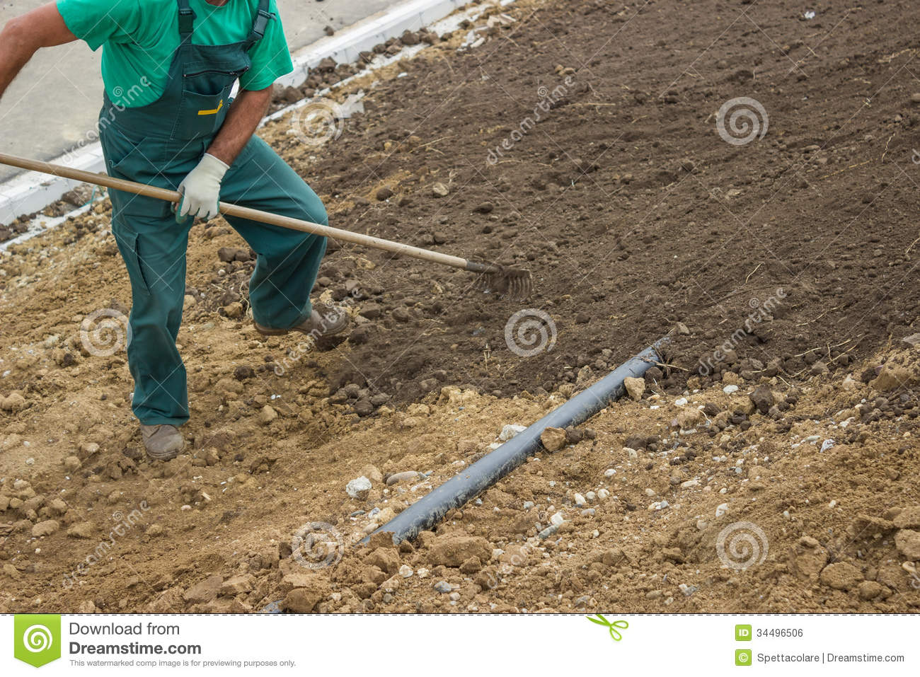 leveling out a backyard part 24 you level the ground as you go