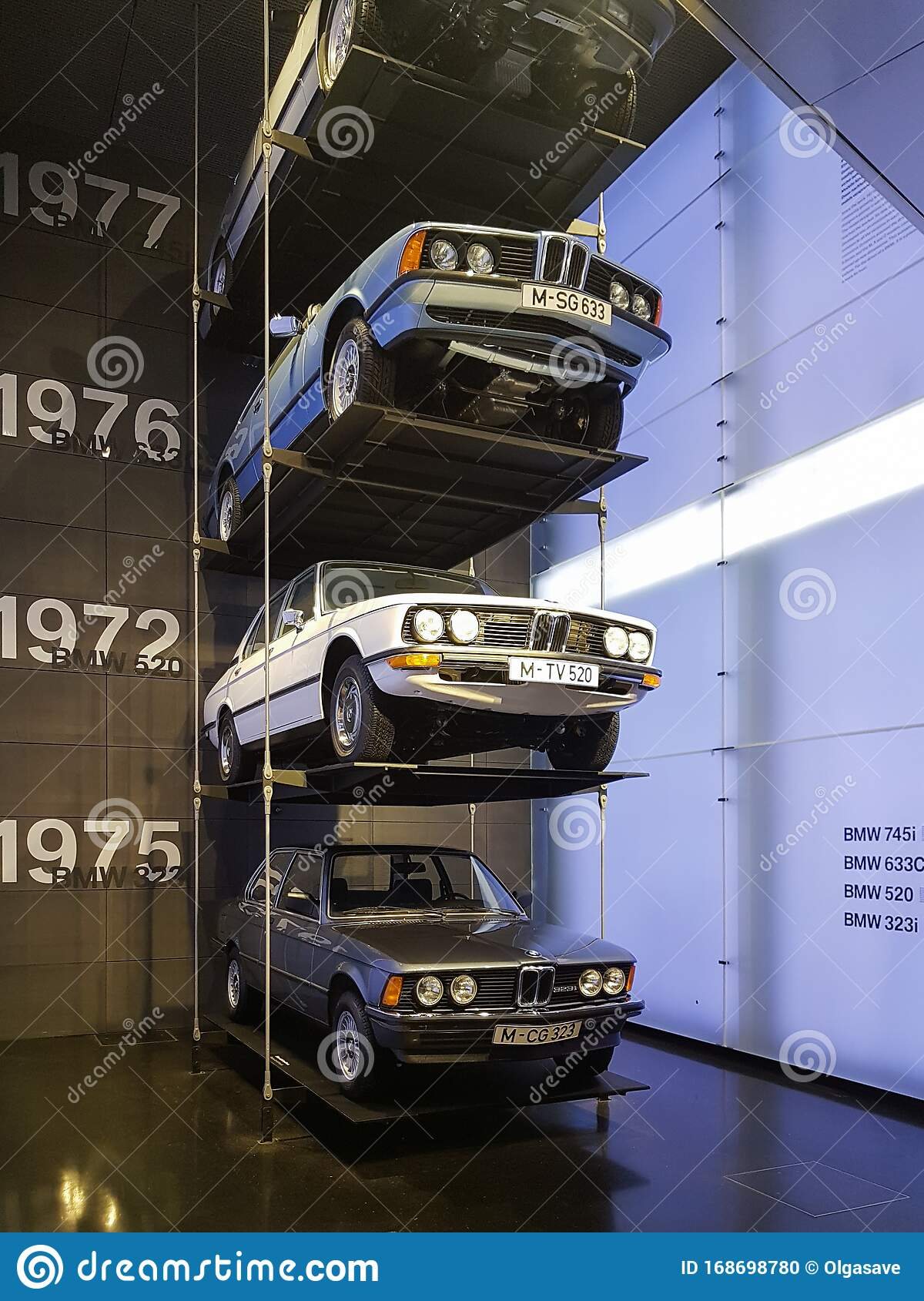Levels Of Old Bmw Cars Exhibition In Bmw Museum Munich German Car Manufacturer Ages Of Bmw Car Models Editorial Image Image Of Cars Head 168698780