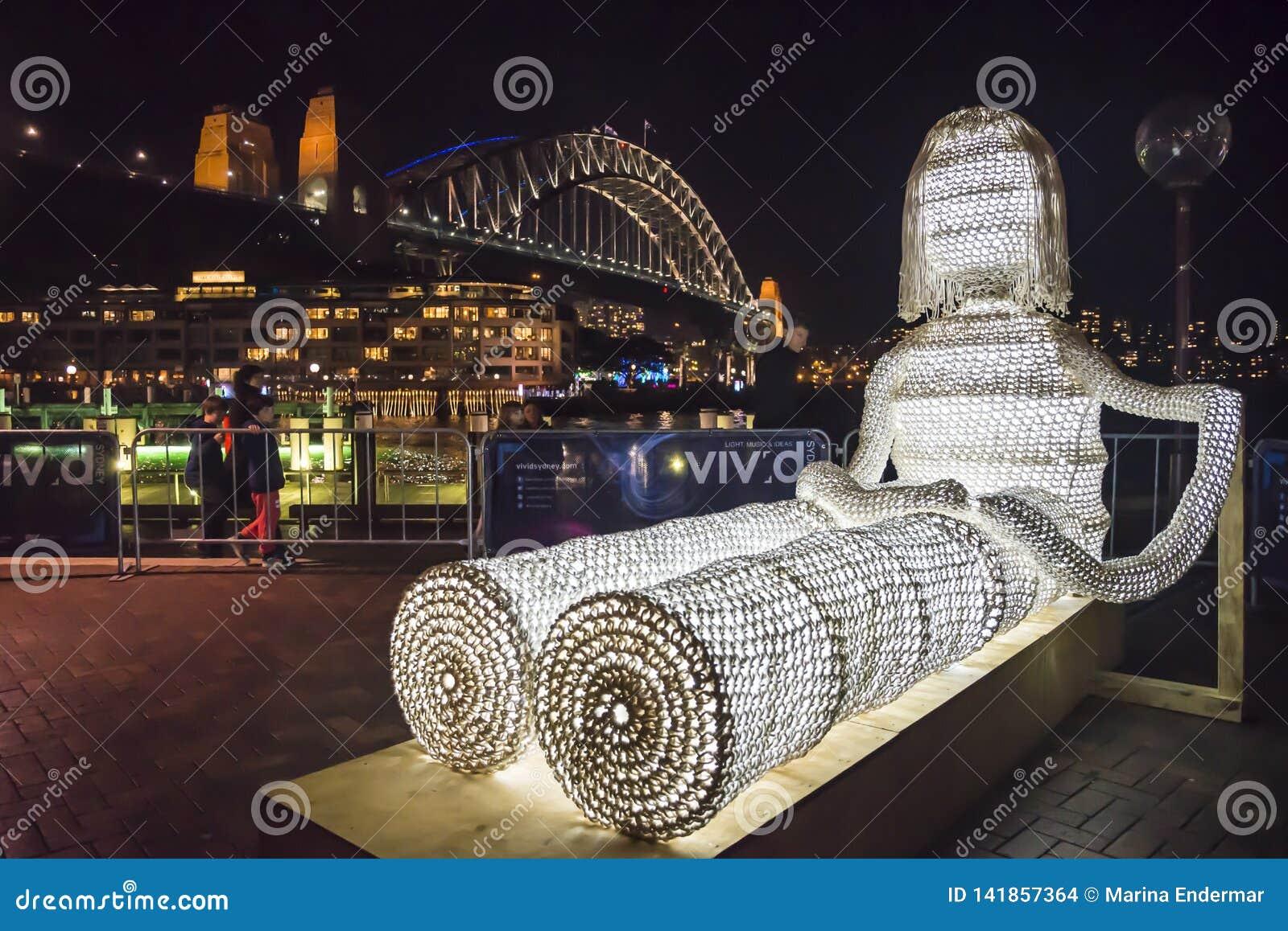 Levendig Festival, Beeldhouwwerk, Sydney, Australië