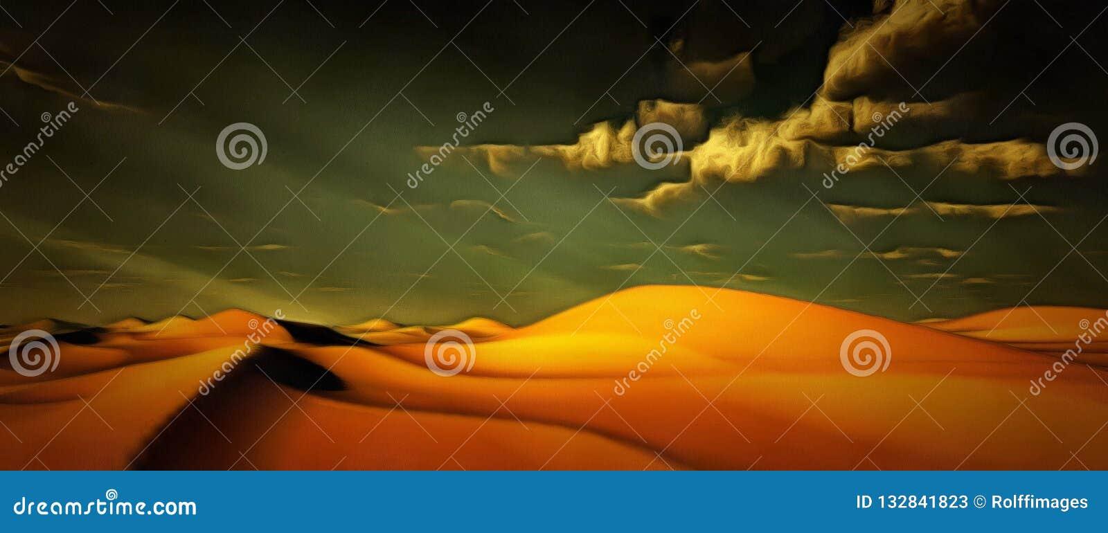Levendige Woestijn