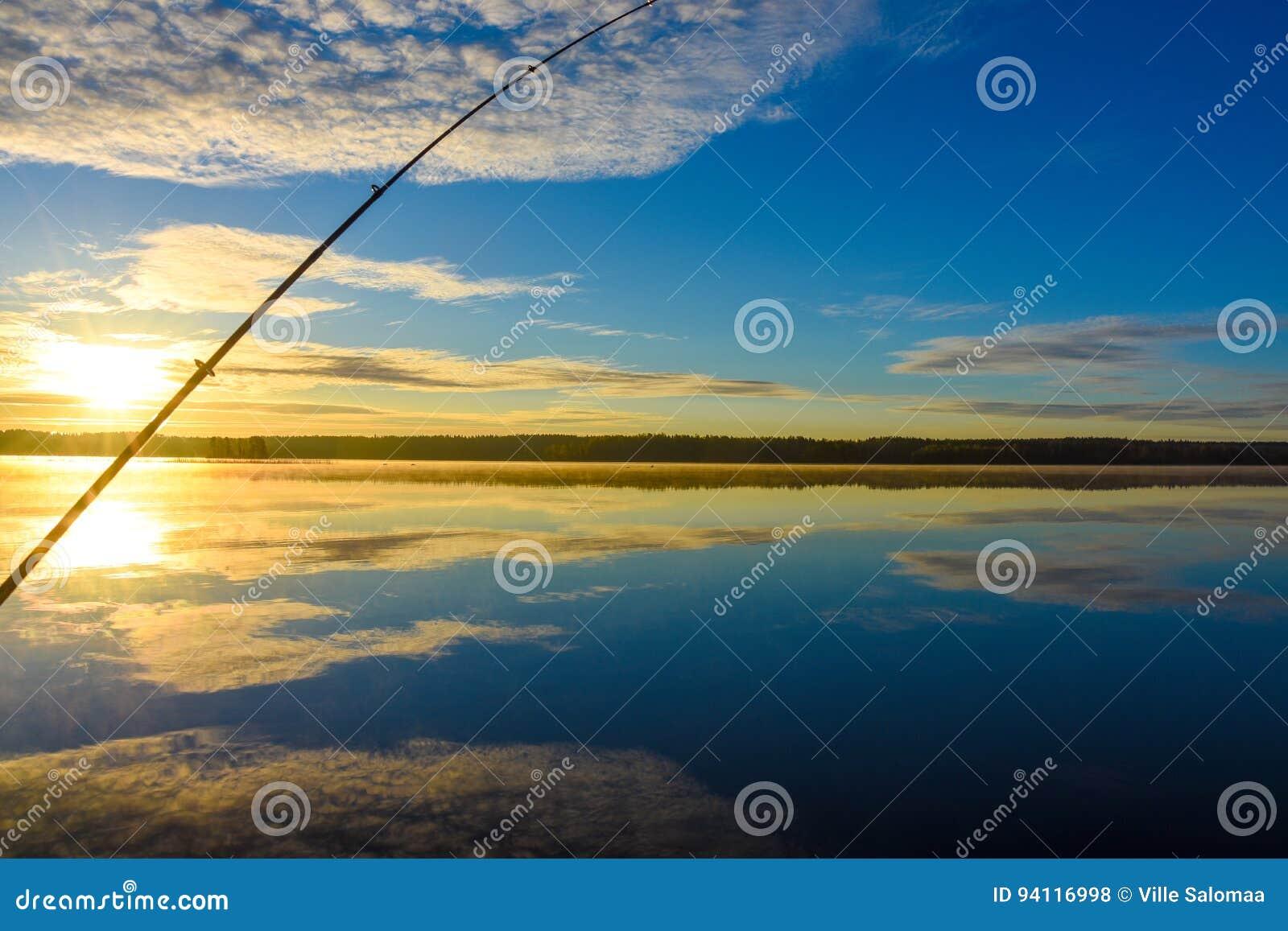 Lever de soleil de bateau