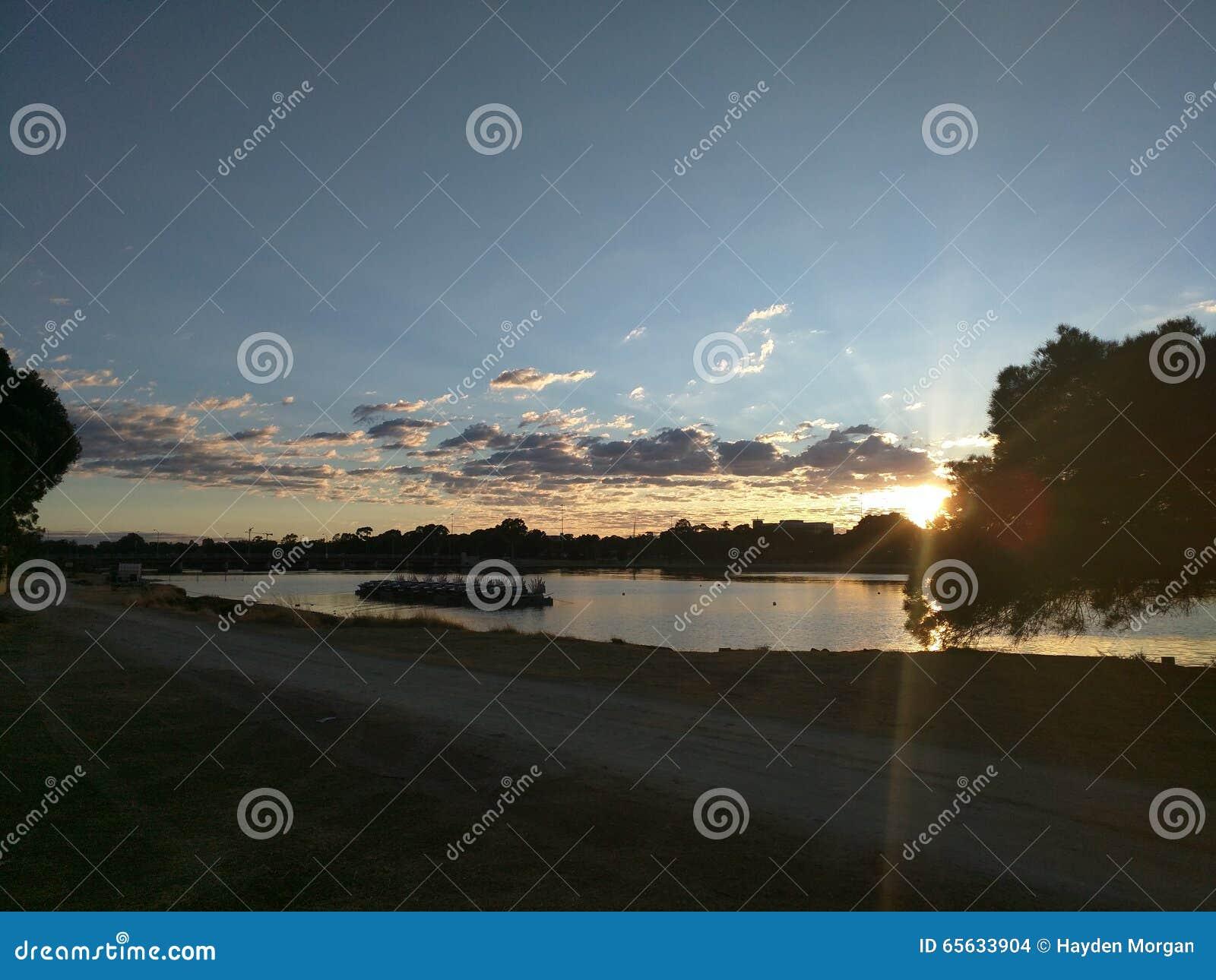 Lever de soleil de Perth
