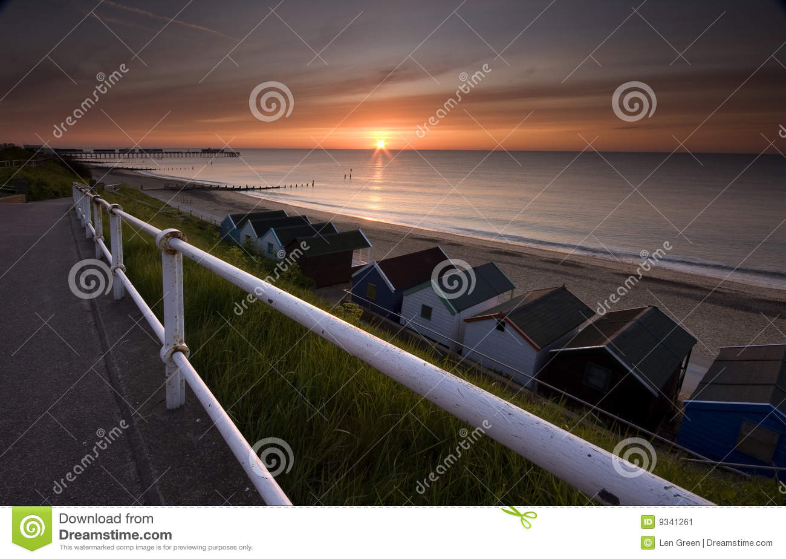 Lever de soleil du Suffolk
