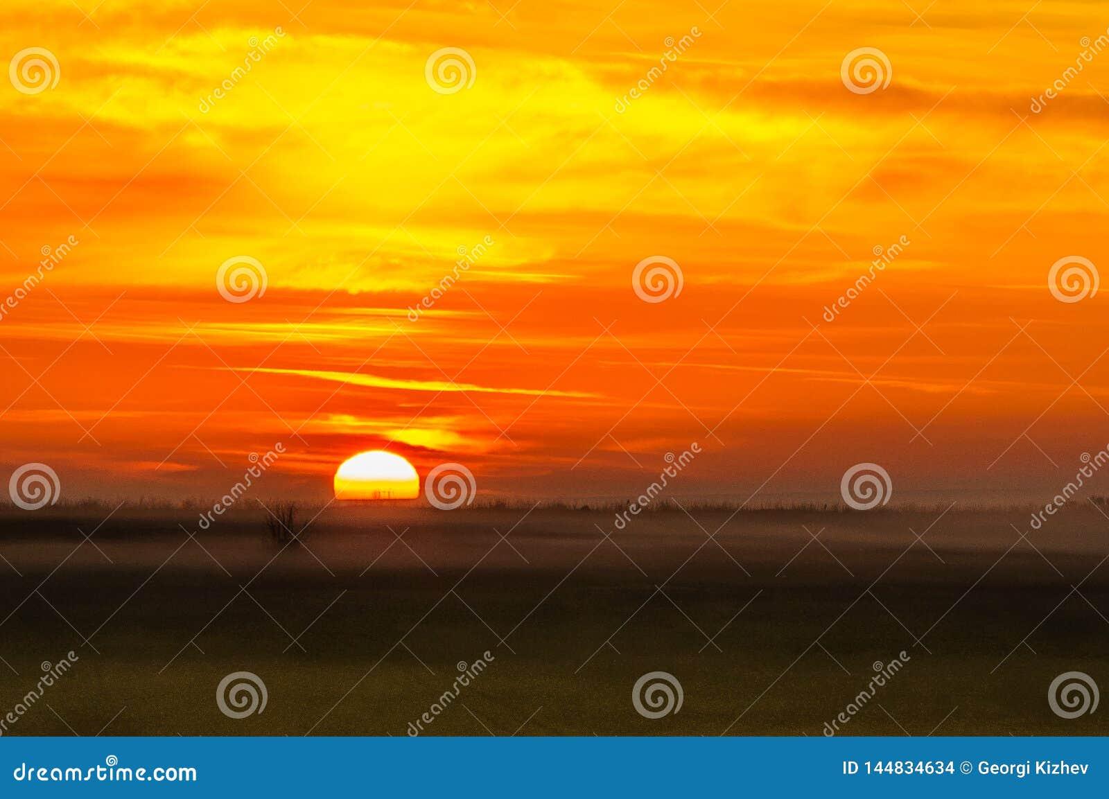 Lever de soleil en Bulgarie 5