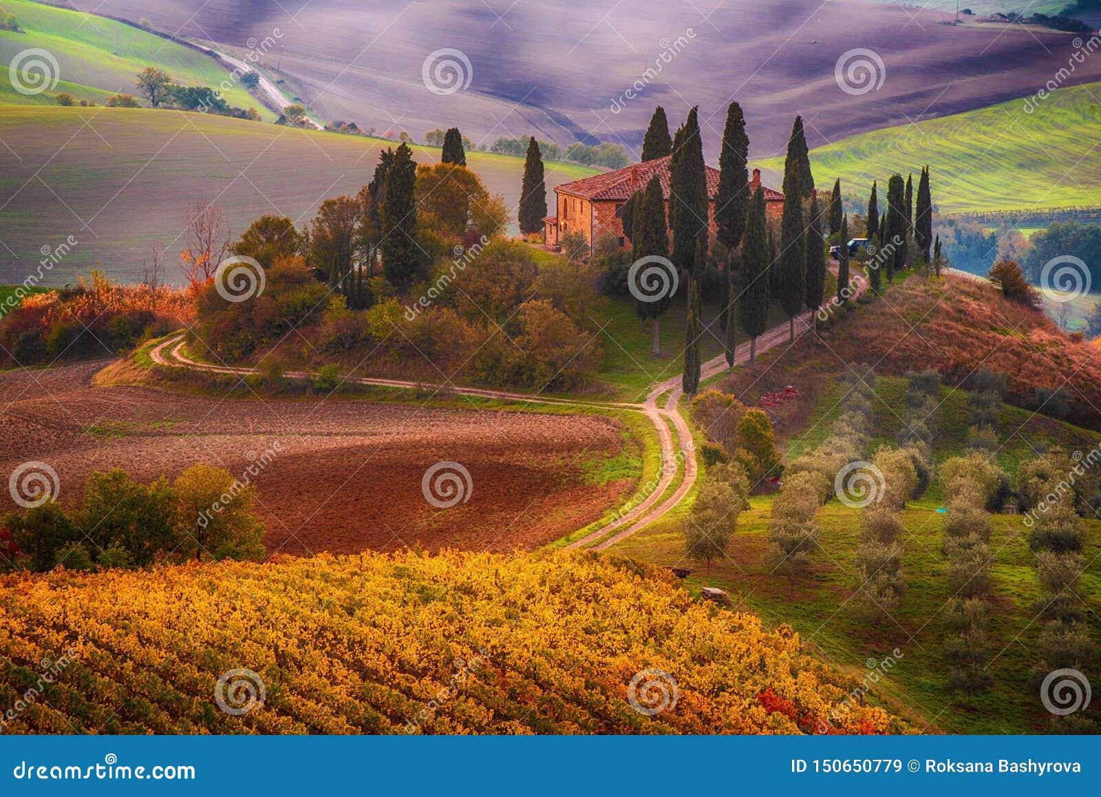 Lever de soleil en Italie