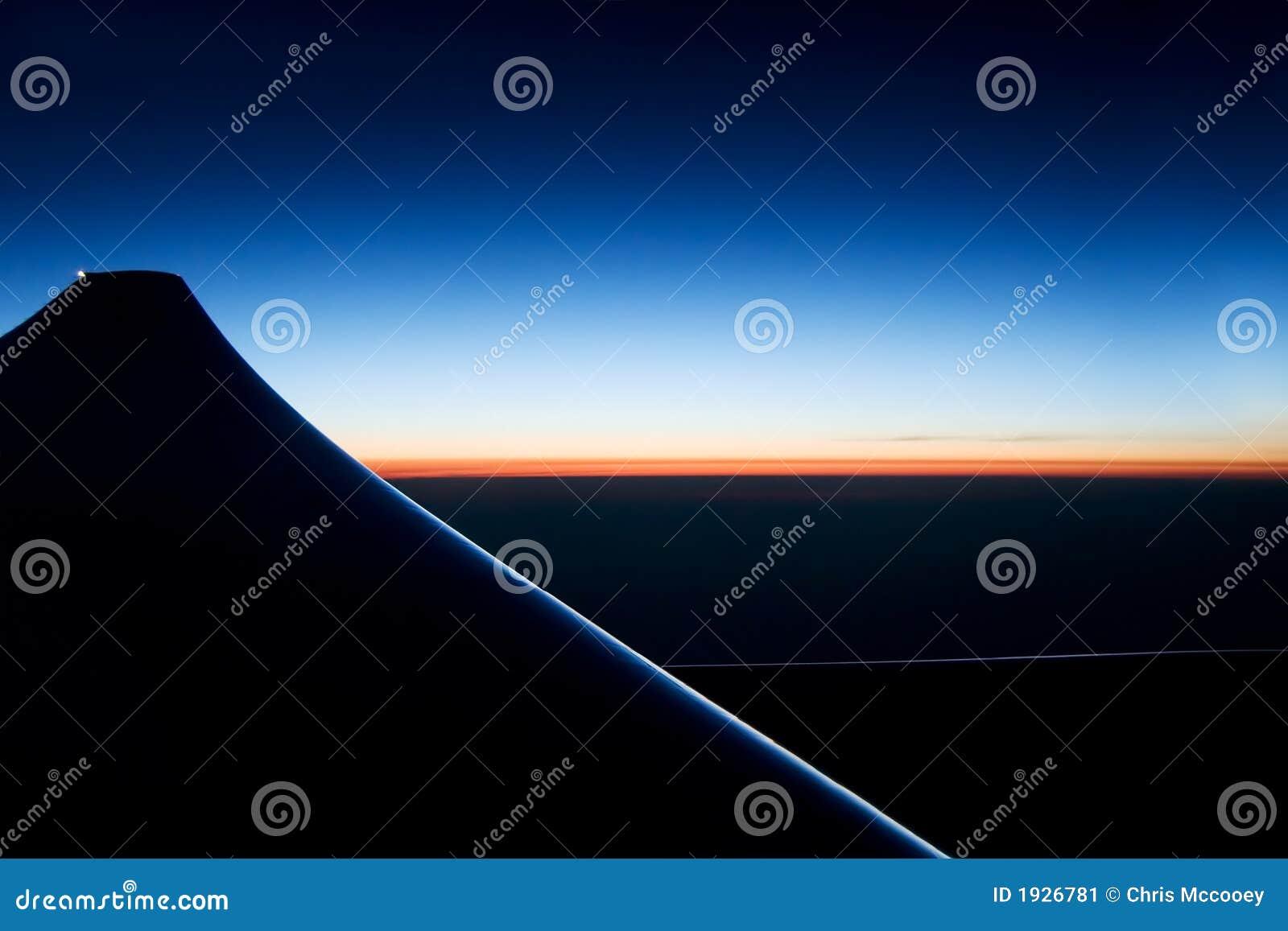 Lever de soleil sur l horizon