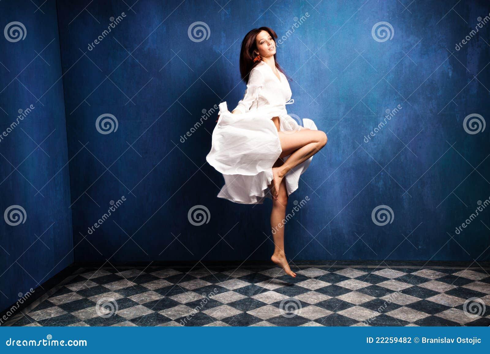 Levitation Woman Stock Photography Image 22259482
