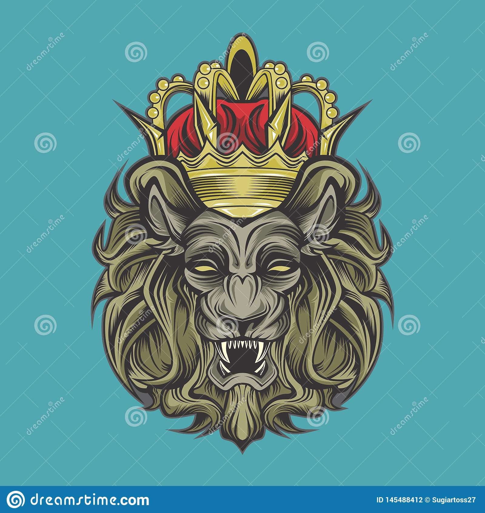 Lew i korona
