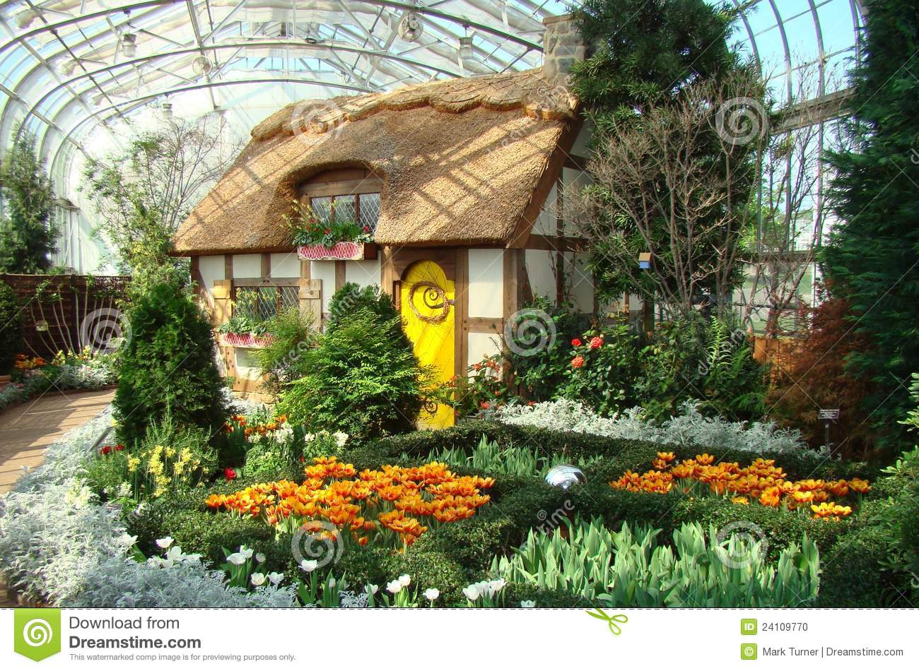 Lewis Ginter Botanical Garden Editorial Image Image 24109770