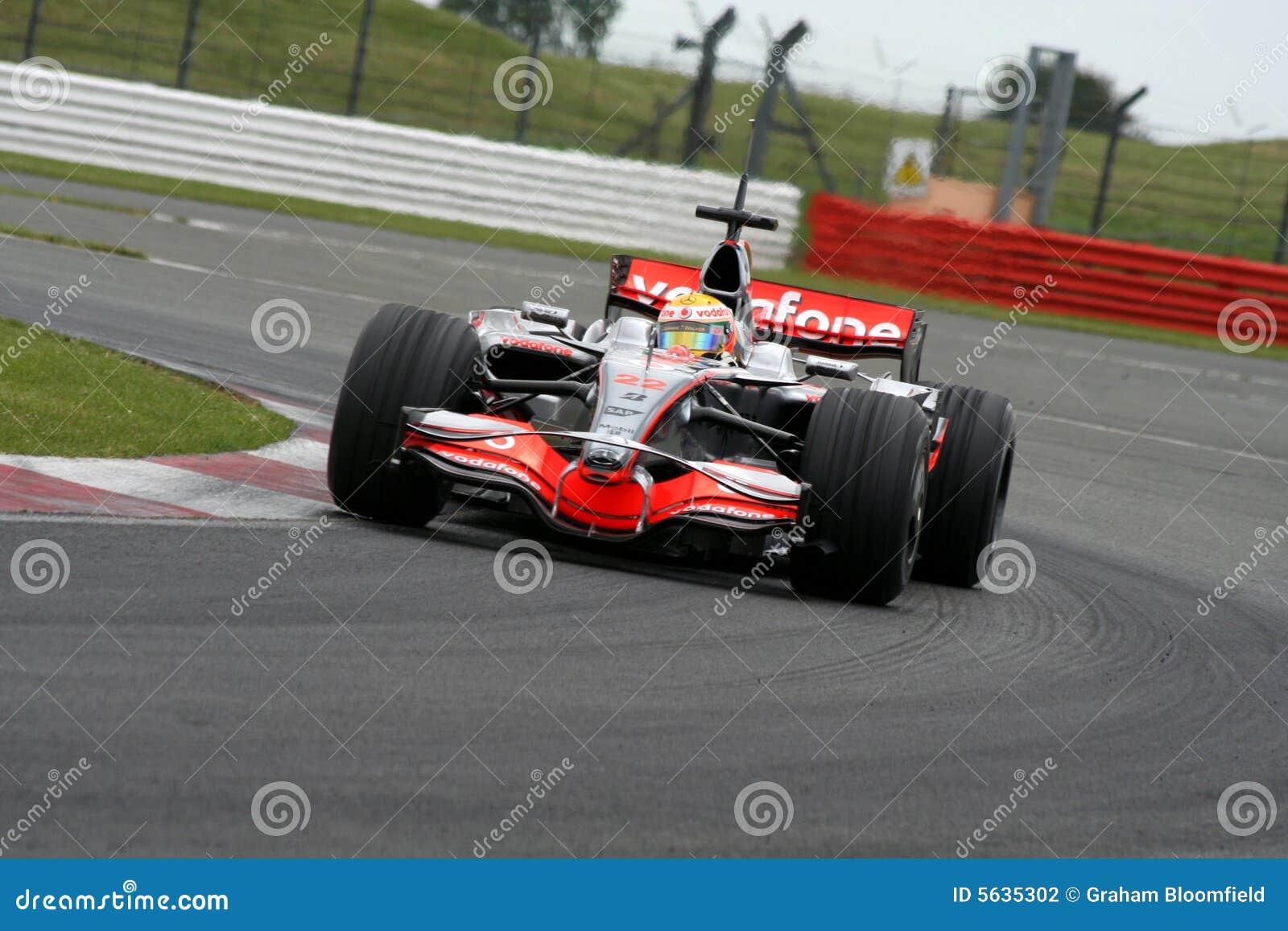 Lewis Hamilton a Silverstone